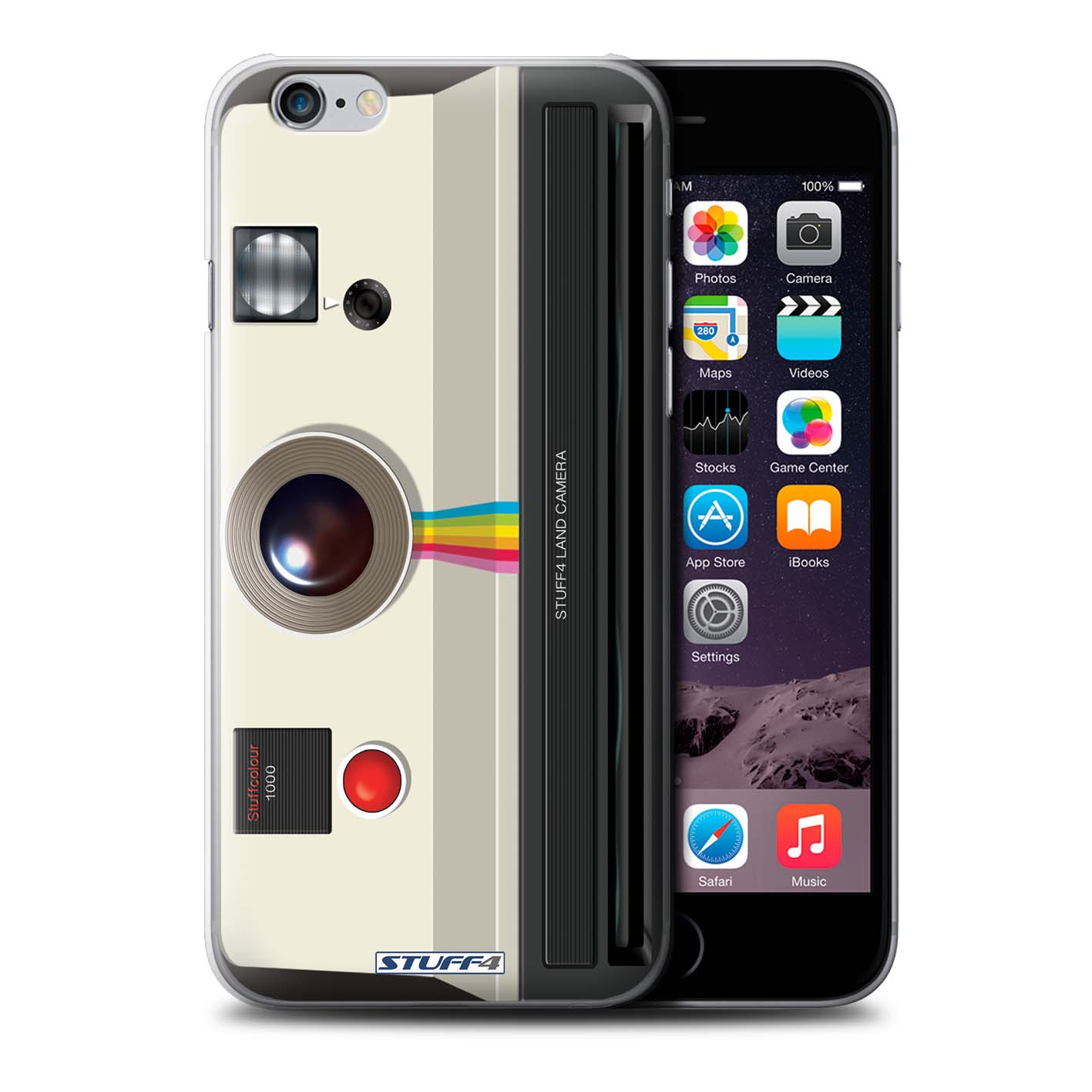 STUFF4 Back Case/Cover/Skin for iPhone 6+/Plus 5.5/Camera