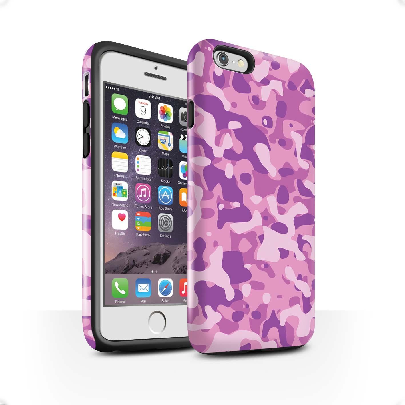 Robuste-Brillant-Antichoc-Etui-STUFF4-pour-Apple-iPhone-6S-Camouflage-Army-Navy
