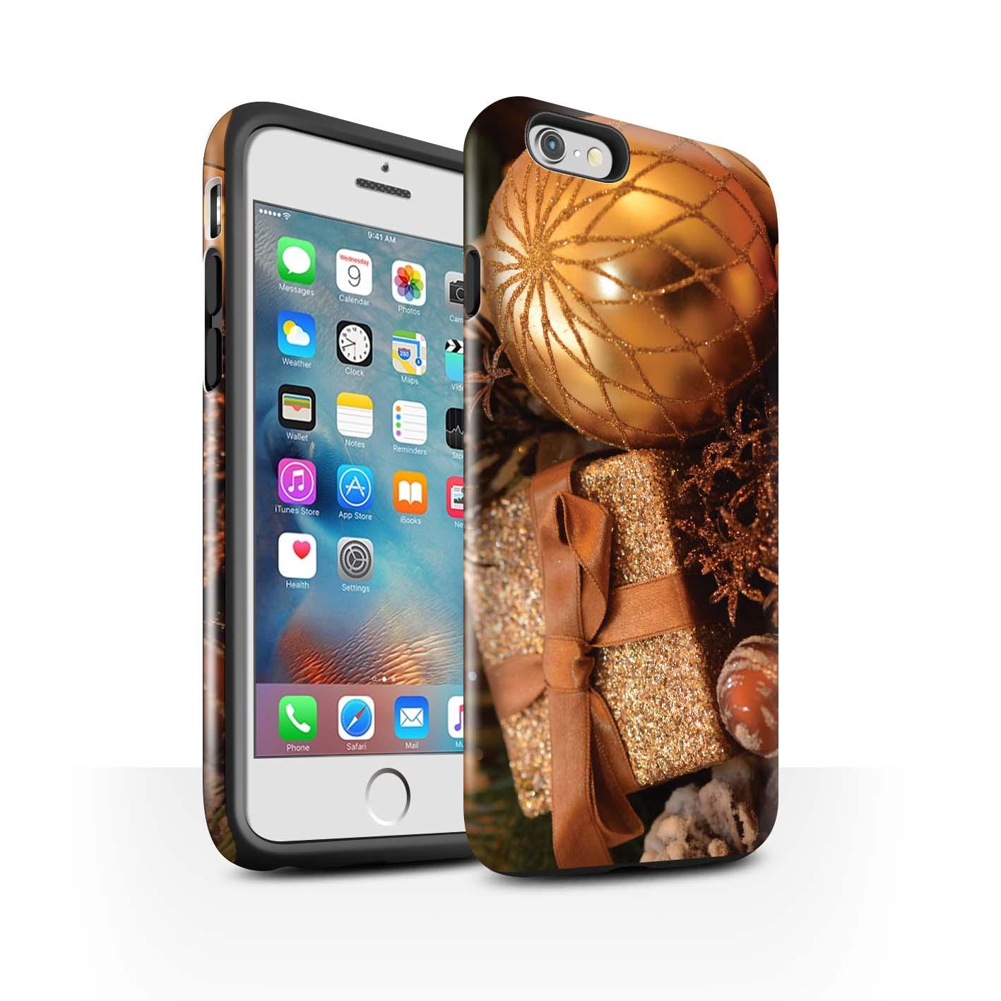 Robuste-Brillant-Antichoc-Etui-STUFF4-pour-Apple-iPhone-6S-Plus-Photo-de-Noel