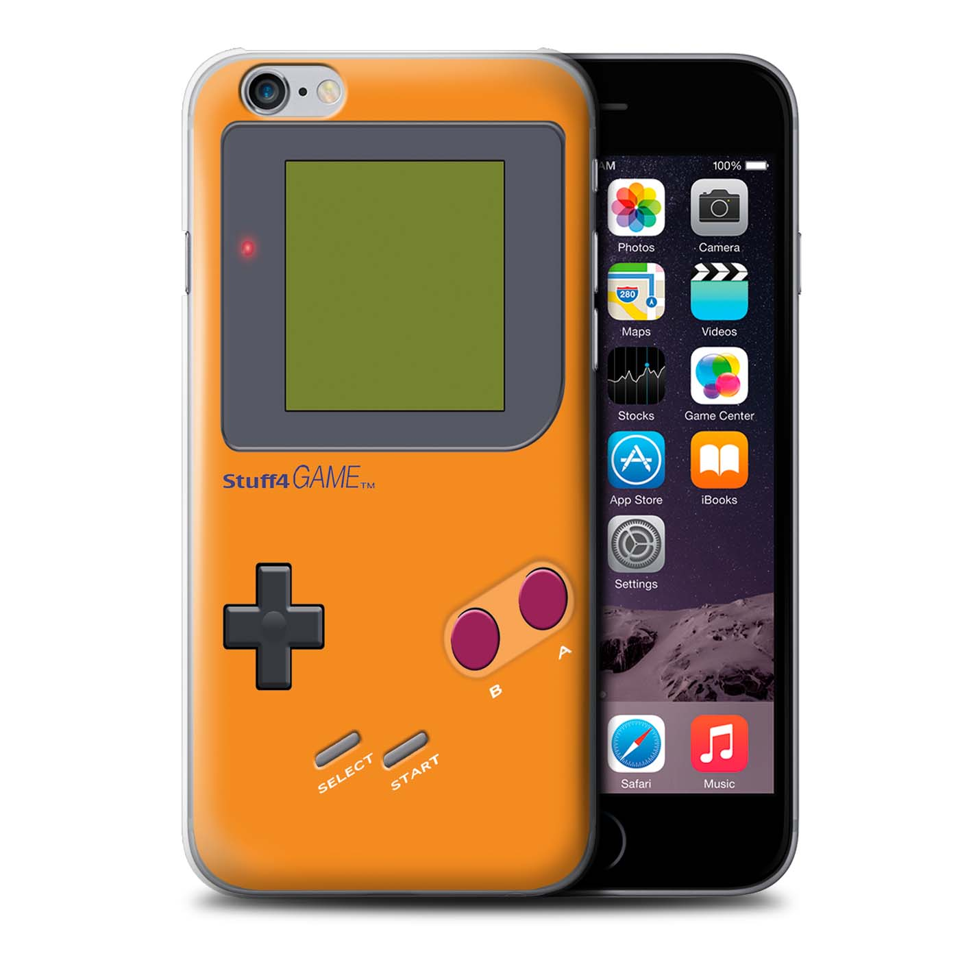 STUFF4-Back-Case-Cover-Skin-for-Apple-iPhone-6S-Plus-Video-Gamer-Gameboy