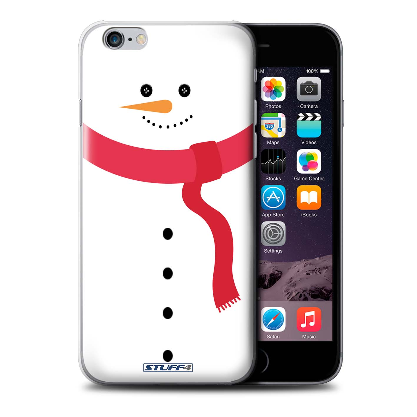 STUFF4 Phone Case/Back Cover for Apple iPhone 6S+/Plus /Christmas ...