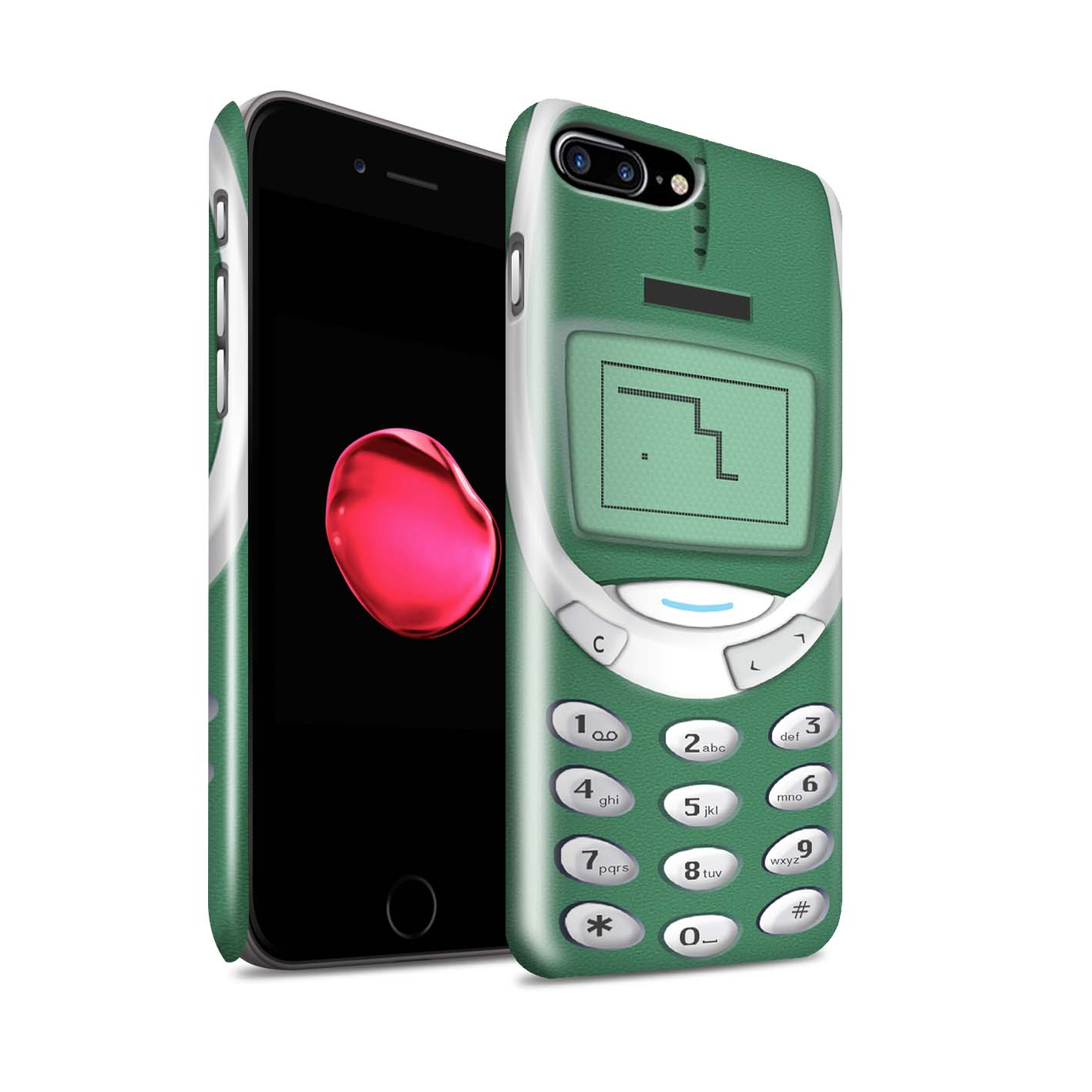 Coque-Etui-Brillant-de-STUFF4-pour-Apple-iPhone-7-Plus-Portables-retro