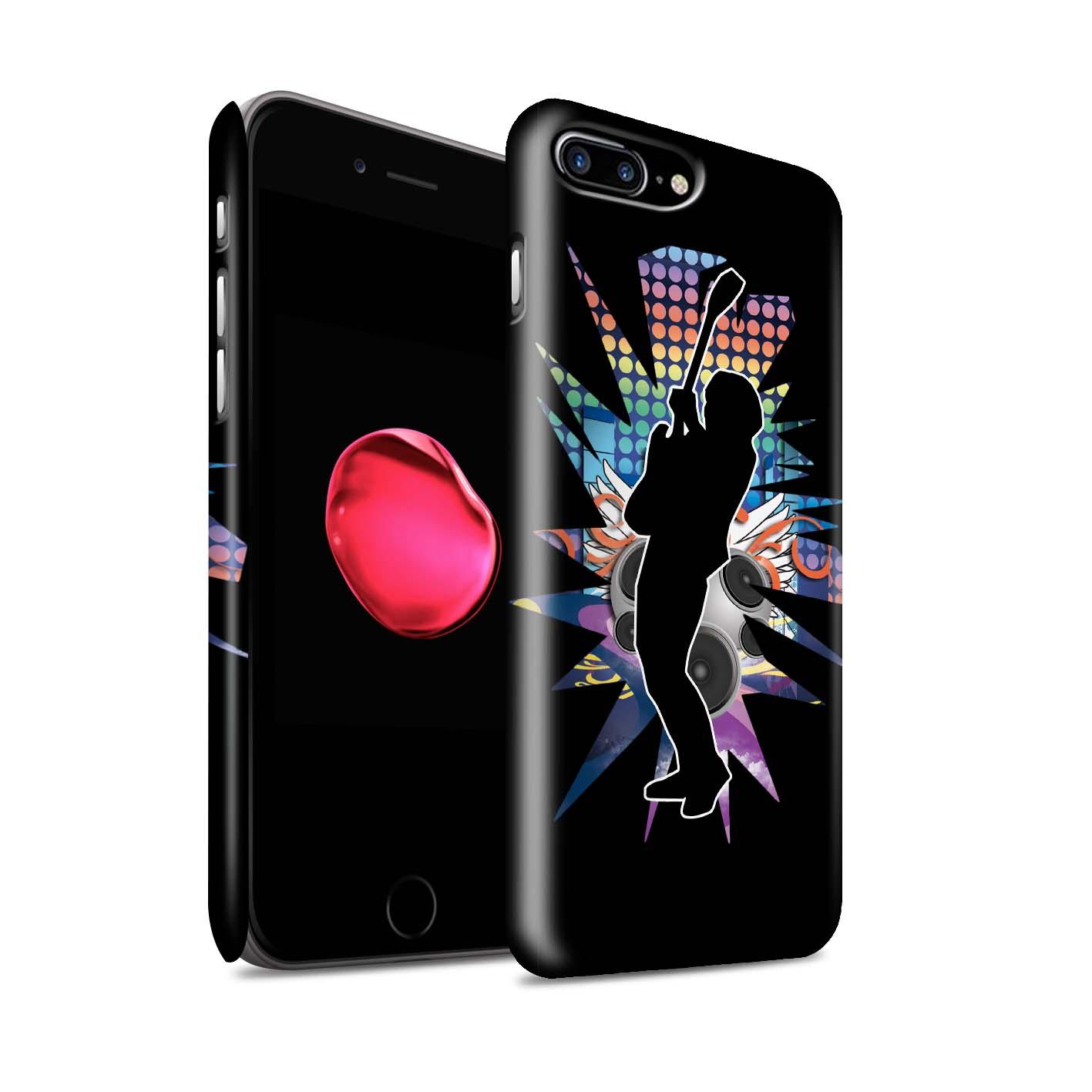 Coque-Etui-Matte-de-STUFF4-pour-Apple-iPhone-7-Plus-Rock-Star-Pose