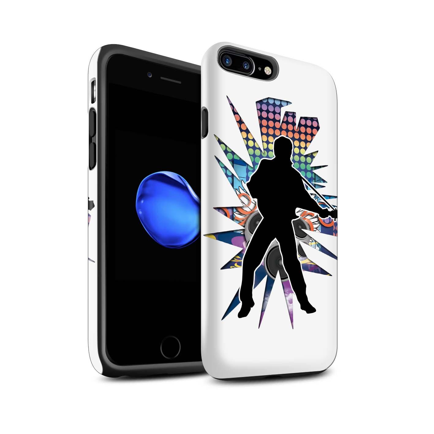 Robuste-Matte-Antichoc-Etui-STUFF4-pour-Apple-iPhone-7-Plus-Rock-Star-Pose