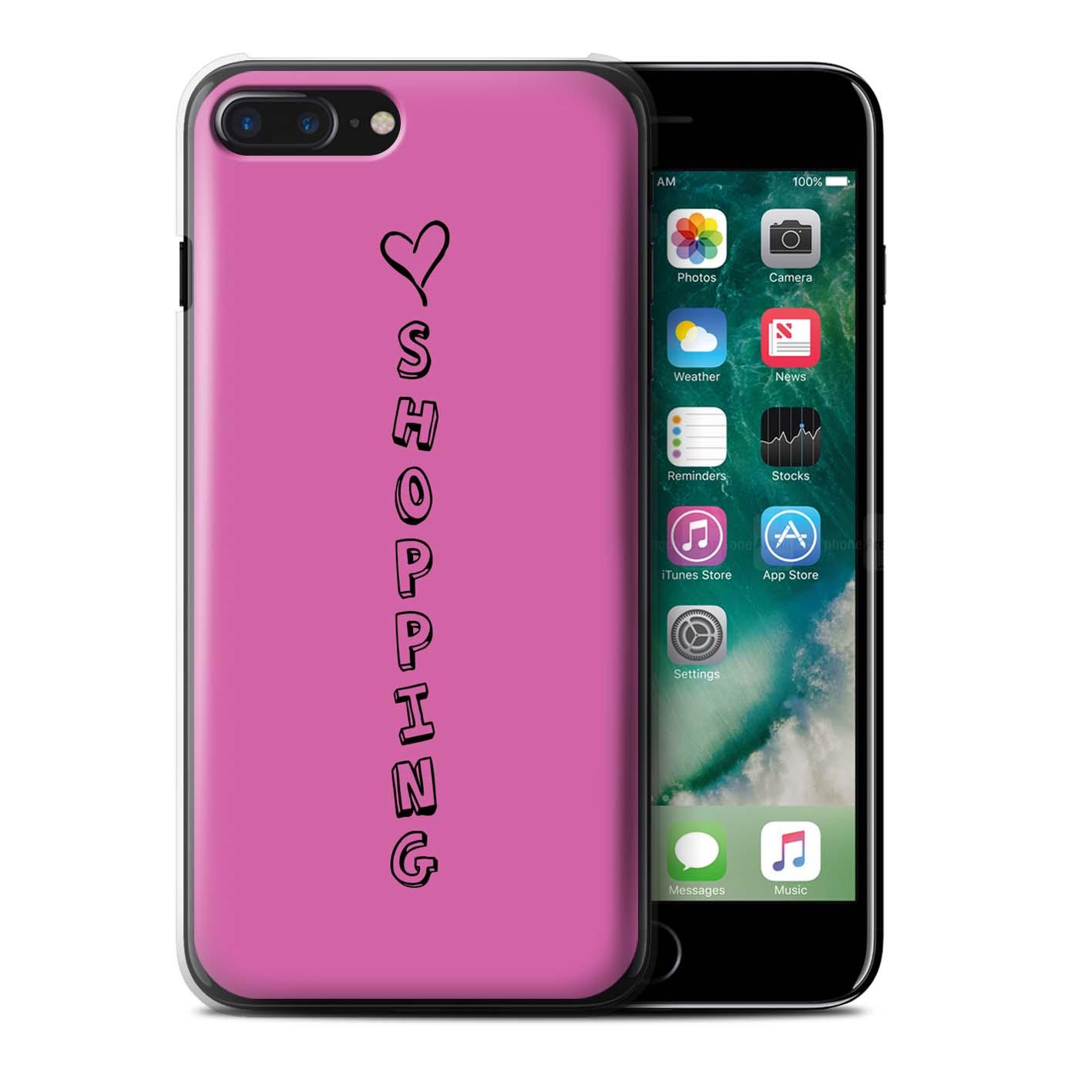 Stuff 4 teléfono caso/cubierta trasera para Apple iPhone 7 Plus/Corazón Xoxo
