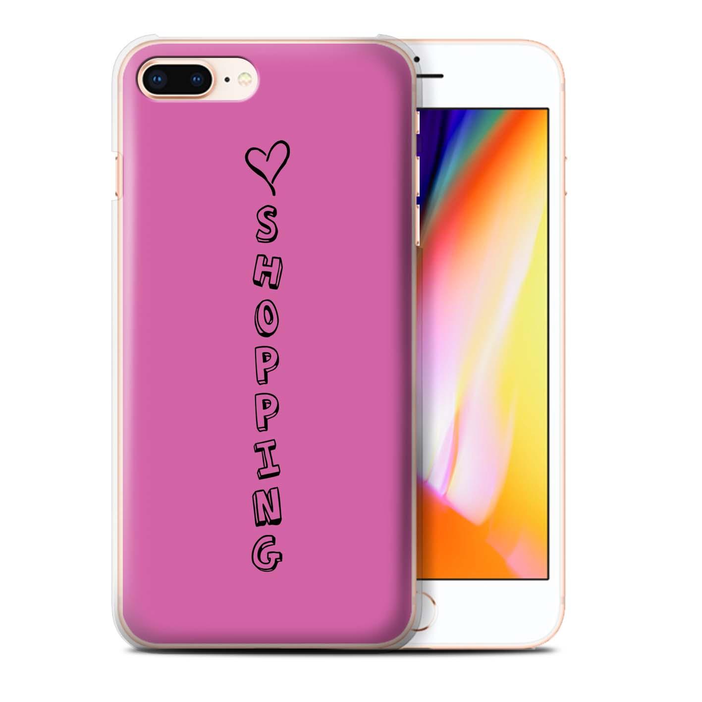 Stuff 4 funda de teléfono/cubierta trasera para Apple iPhone 8 Plus/Corazón Xoxo