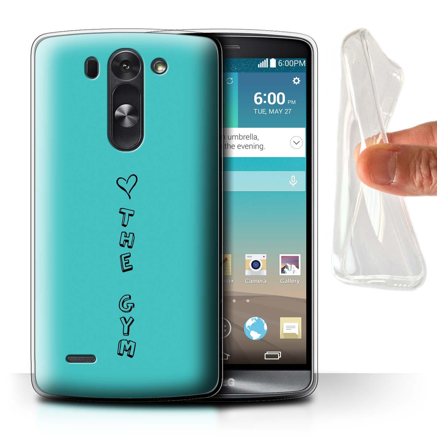 Stuff 4 Gel/TPU Funda de teléfono para LG G3 Mini S/D722/Corazón Xoxo