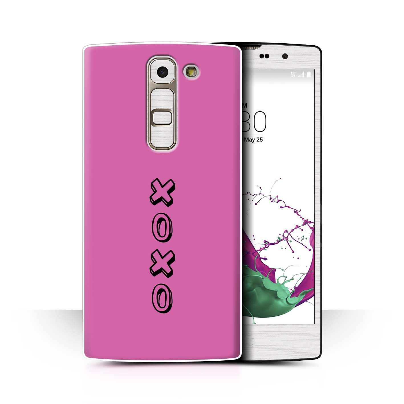 Stuff4 Hülle/Case/Backcover für LG G4c/H525N/Herz XOXO