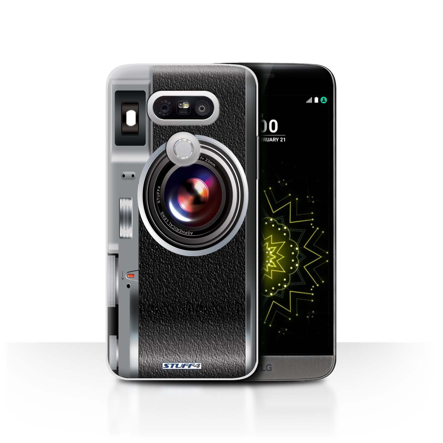 STUFF4 Back Case/Cover/Skin for LG G5/H850/H820/H830/Camera