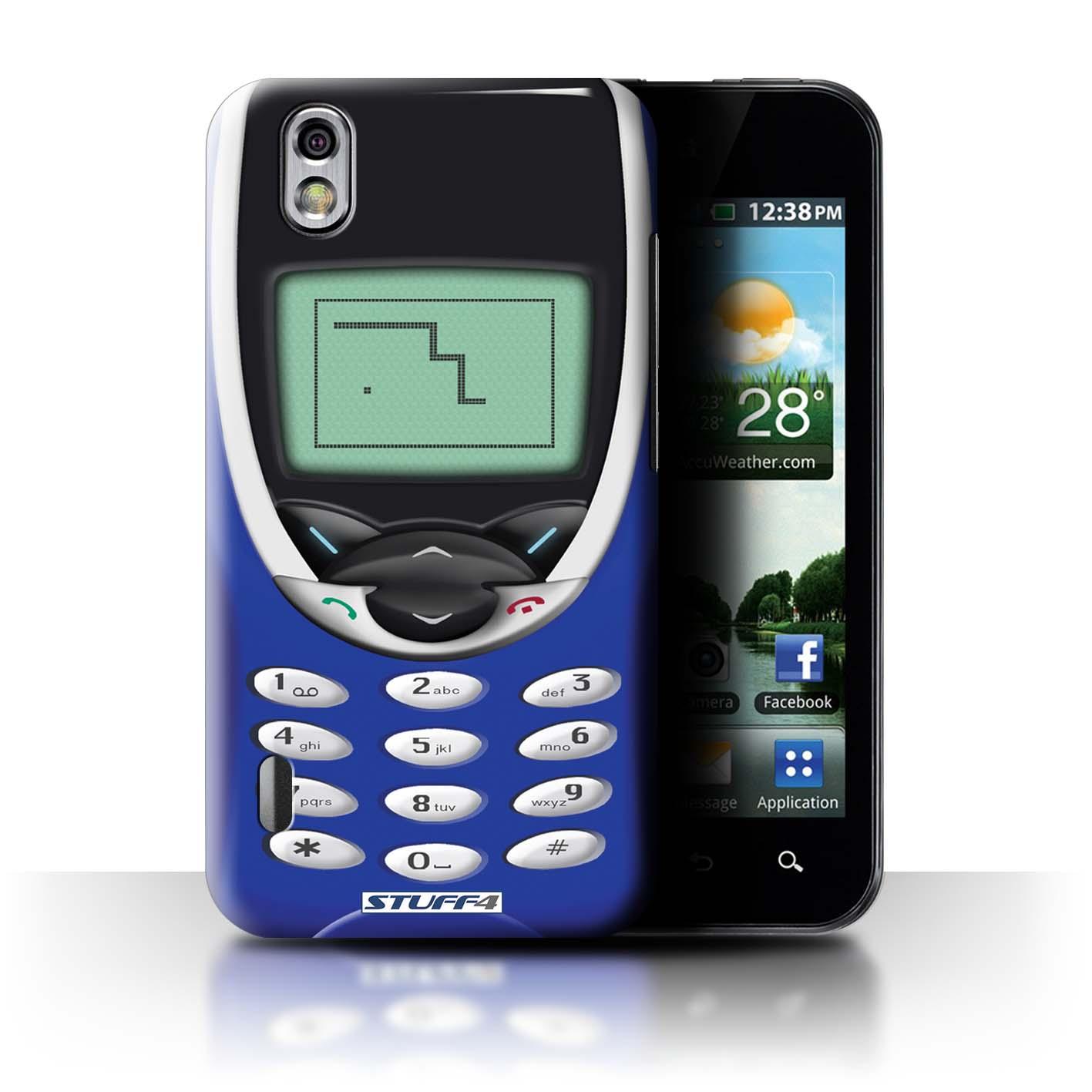 STUFF4 Back Case/Cover/Skin for LG Optimus Black P970/Retro Phones