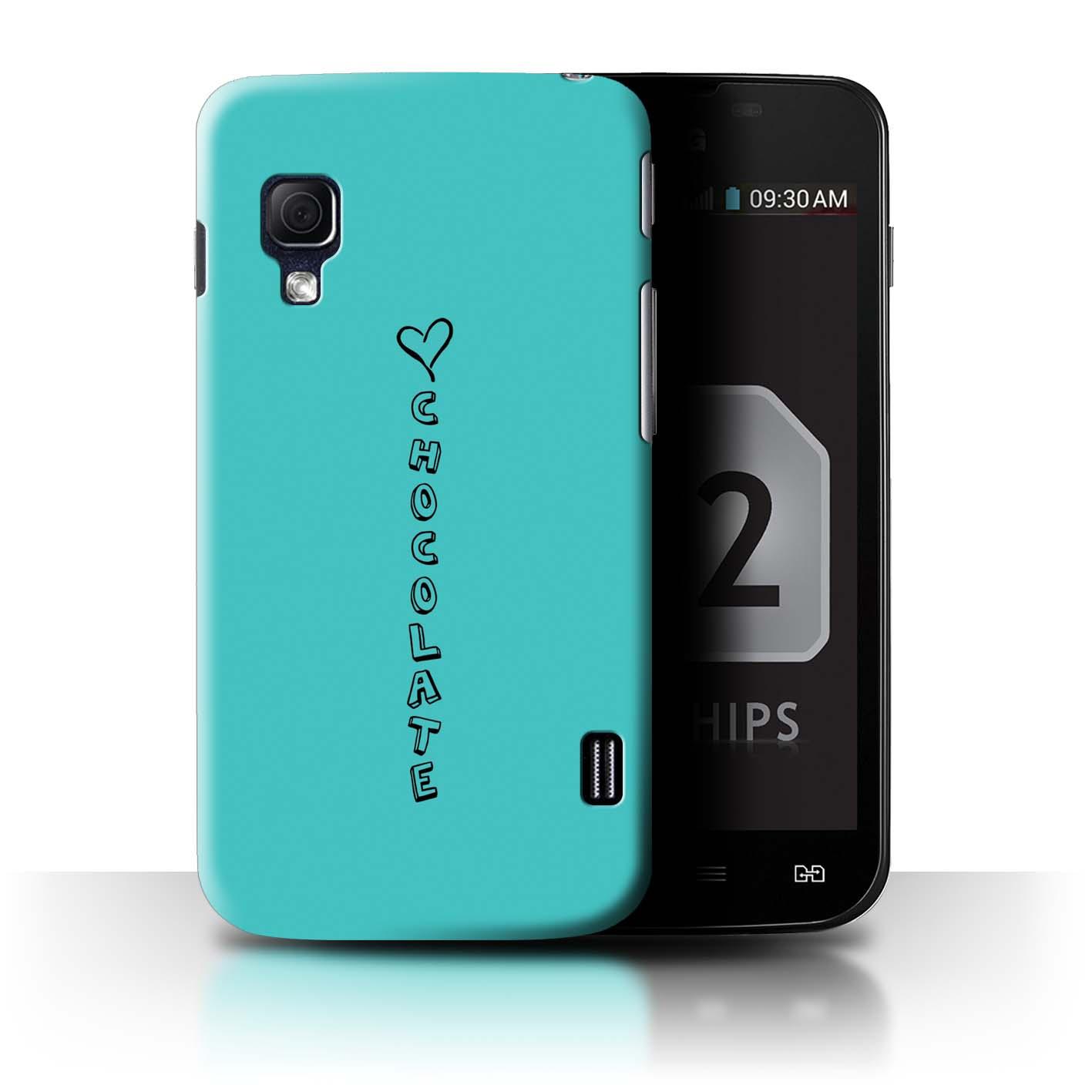 STUFF4 Phone Case/Back Cover for LG Optimus L5 II Dual/E455 /Heart XOXO