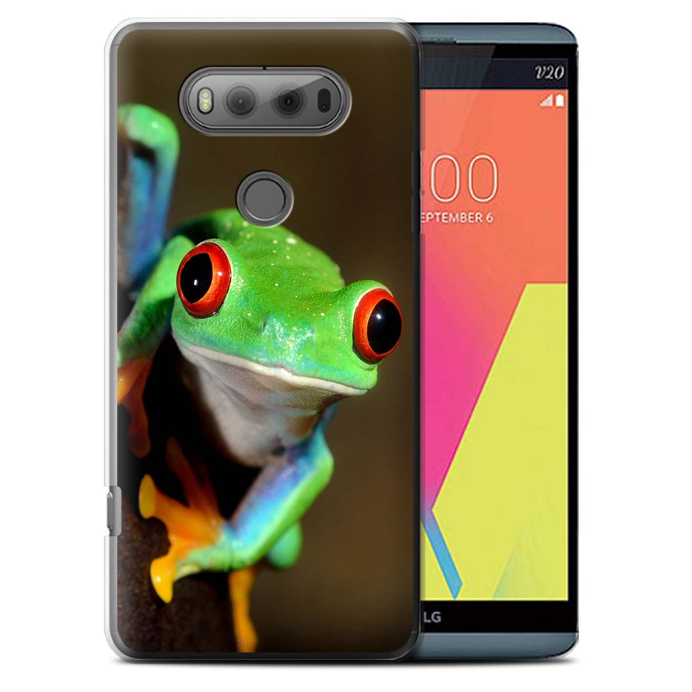 STUFF4 Back Case/Cover/Skin for LG V20 F800/H990/VS995/Wildlife Animals