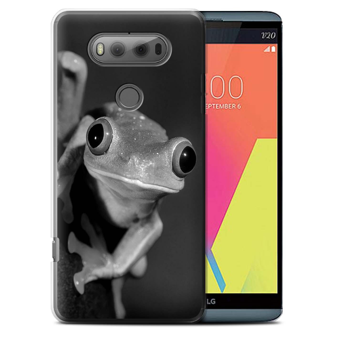 STUFF4 Back Case/Cover/Skin for LG V20 F800/H990/VS995/Mono Zoo Animals