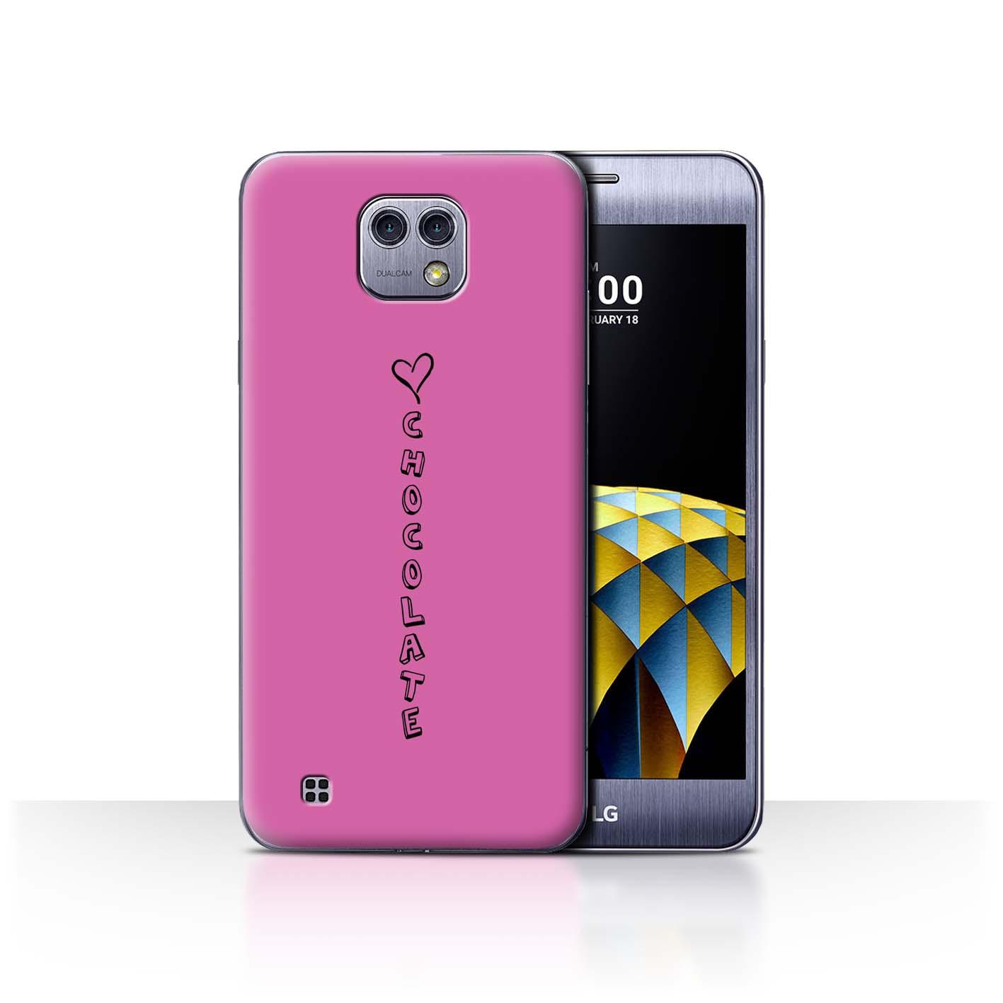 Stuff4 Hülle/Case/Backcover für LG X Cam/K580/Herz XOXO