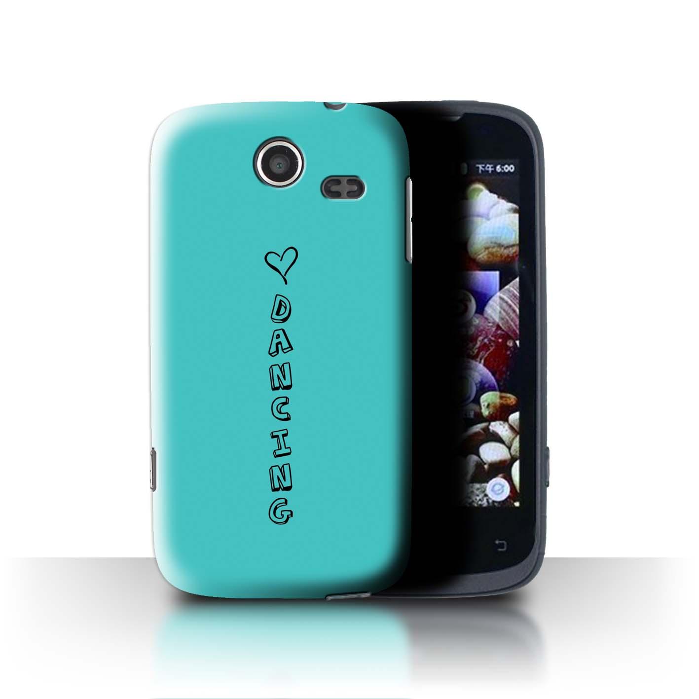 Stuff 4 teléfono caso/cubierta trasera para Lenovo A750/Corazón Xoxo