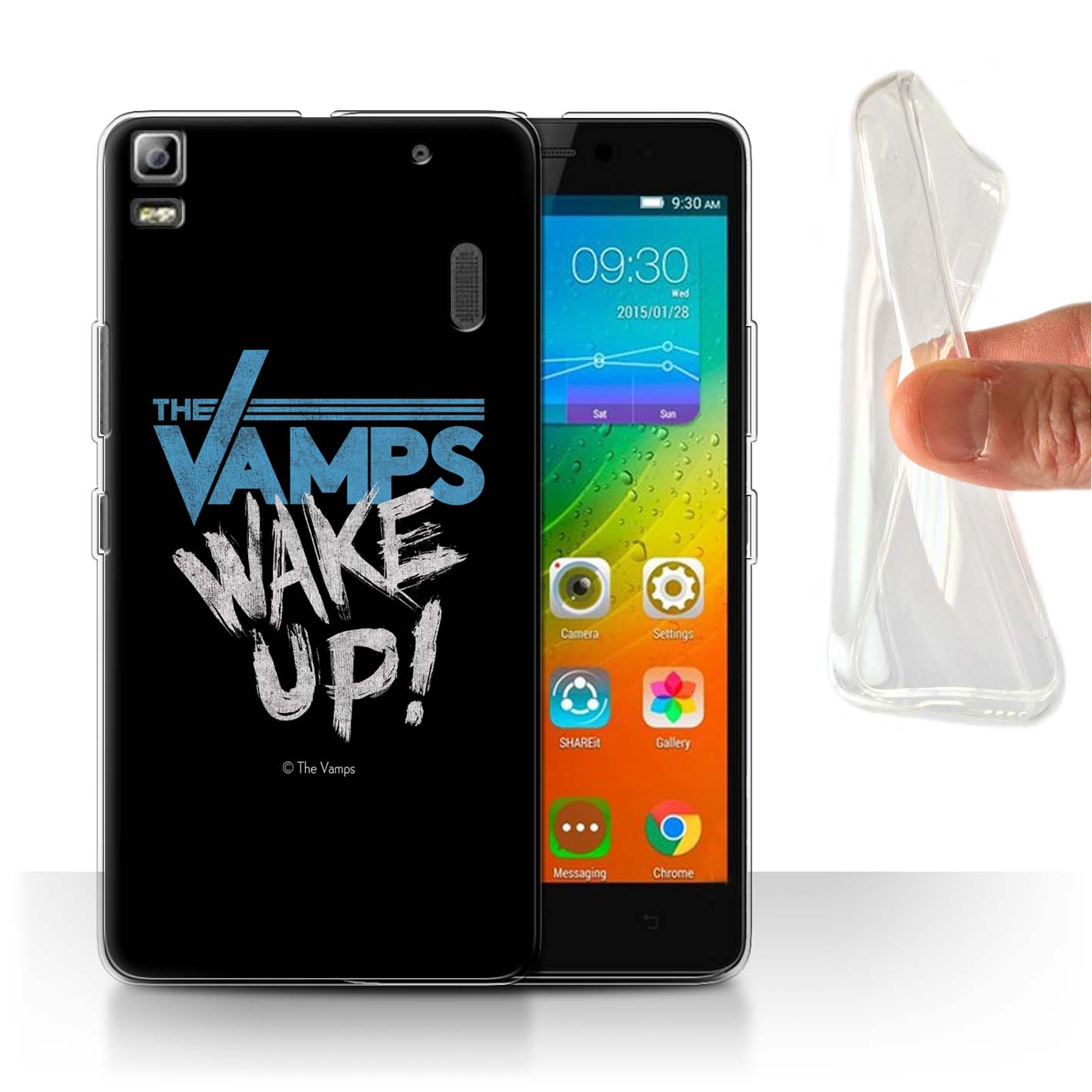 The-Vamps-Gel-TPU-Case-for-Lenovo-K3-Note-K50-T5-The-Vamps-Graffiti-Band-Logo