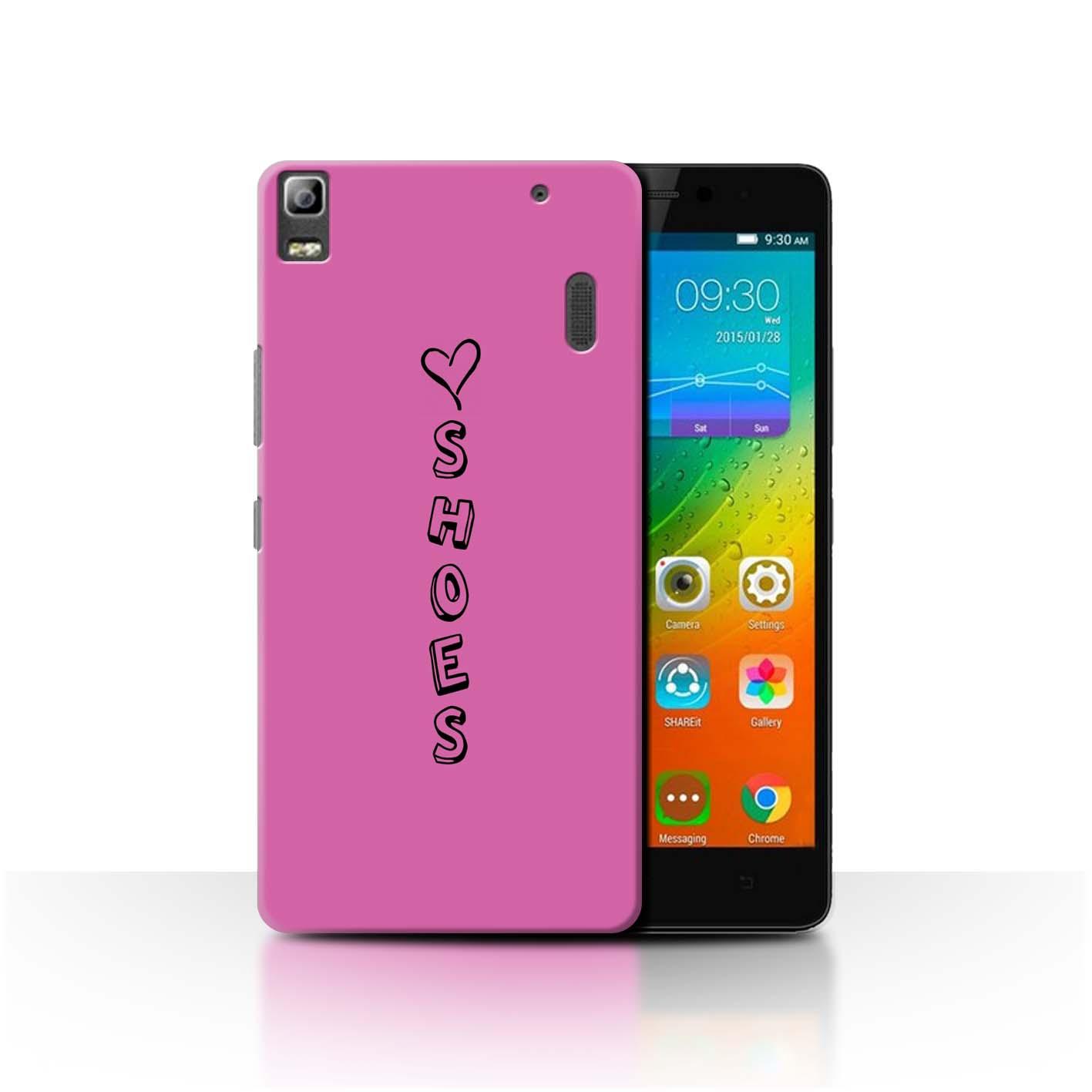 Stuff 4 teléfono caso/cubierta trasera para Lenovo K3 nota/K50-T5/Corazón Xoxo