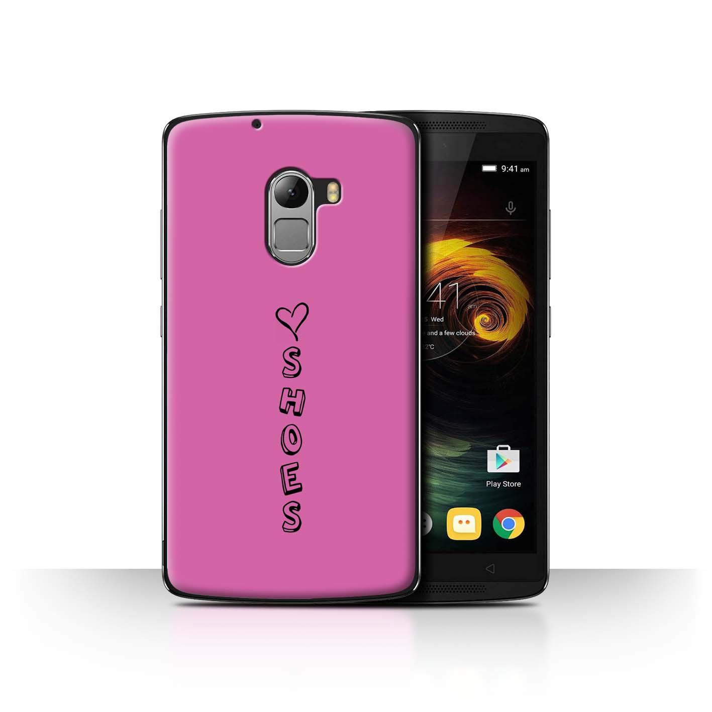 Stuff 4 teléfono caso/cubierta trasera para Lenovo Vibe K4 nota/Corazón Xoxo