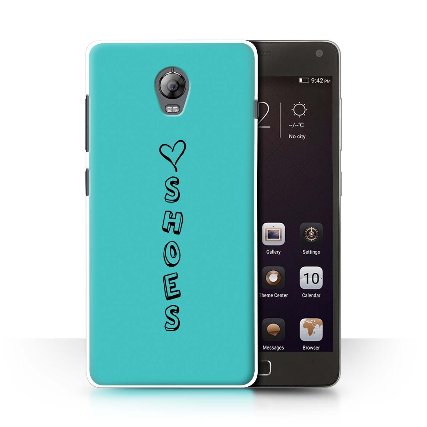 Stuff 4 teléfono caso/cubierta trasera para Lenovo Vibe P1/Corazón Xoxo