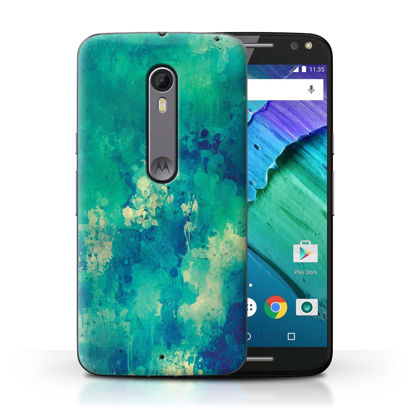 Coque-Etui-Housse-de-Stuff4-pour-Motorola-Moto-X-Pure-Edition-Mode-Sarcelle