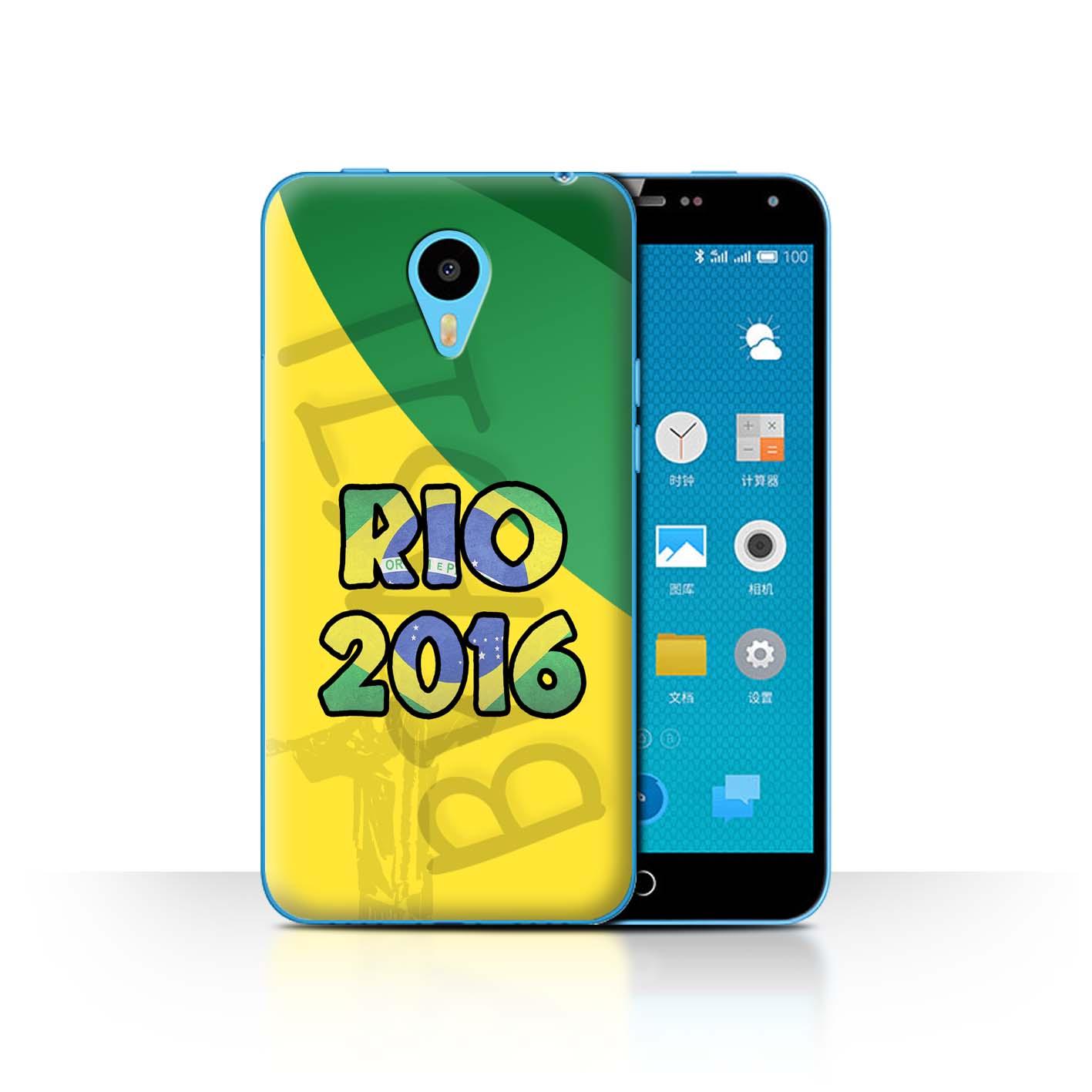 STUFF4-Back-Case-Cover-Skin-for-Meizu-M1N-Brazil-Love-Rio-2016