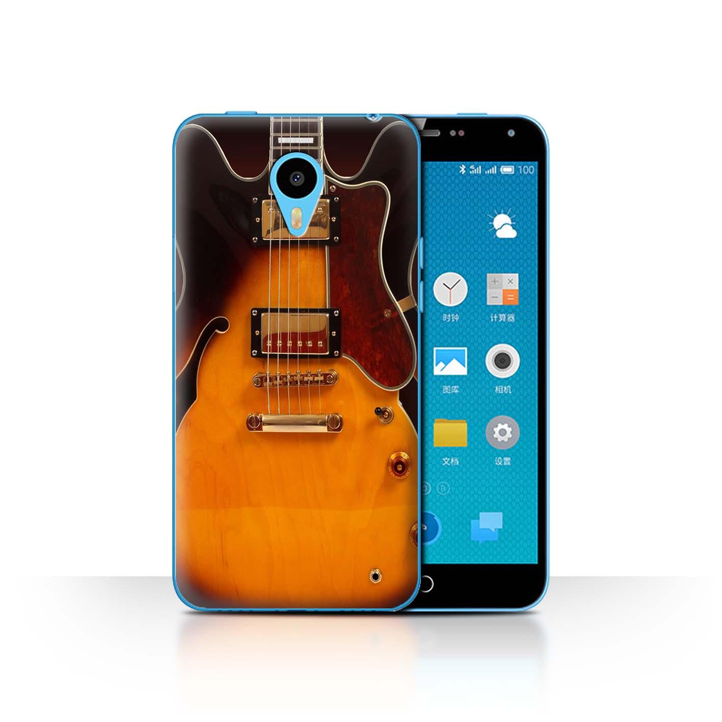 STUFF4-Back-Case-Cover-Skin-for-Meizu-M1N-Guitar
