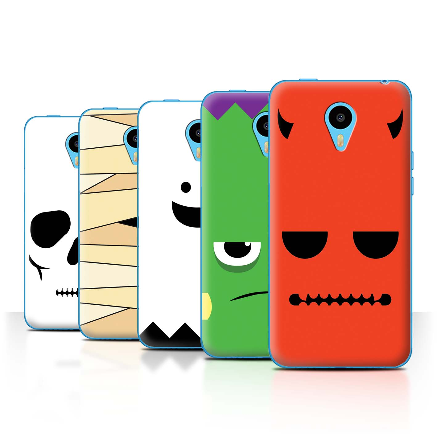 STUFF4-Back-Case-Cover-Skin-for-Meizu-M1N-Halloween-Character