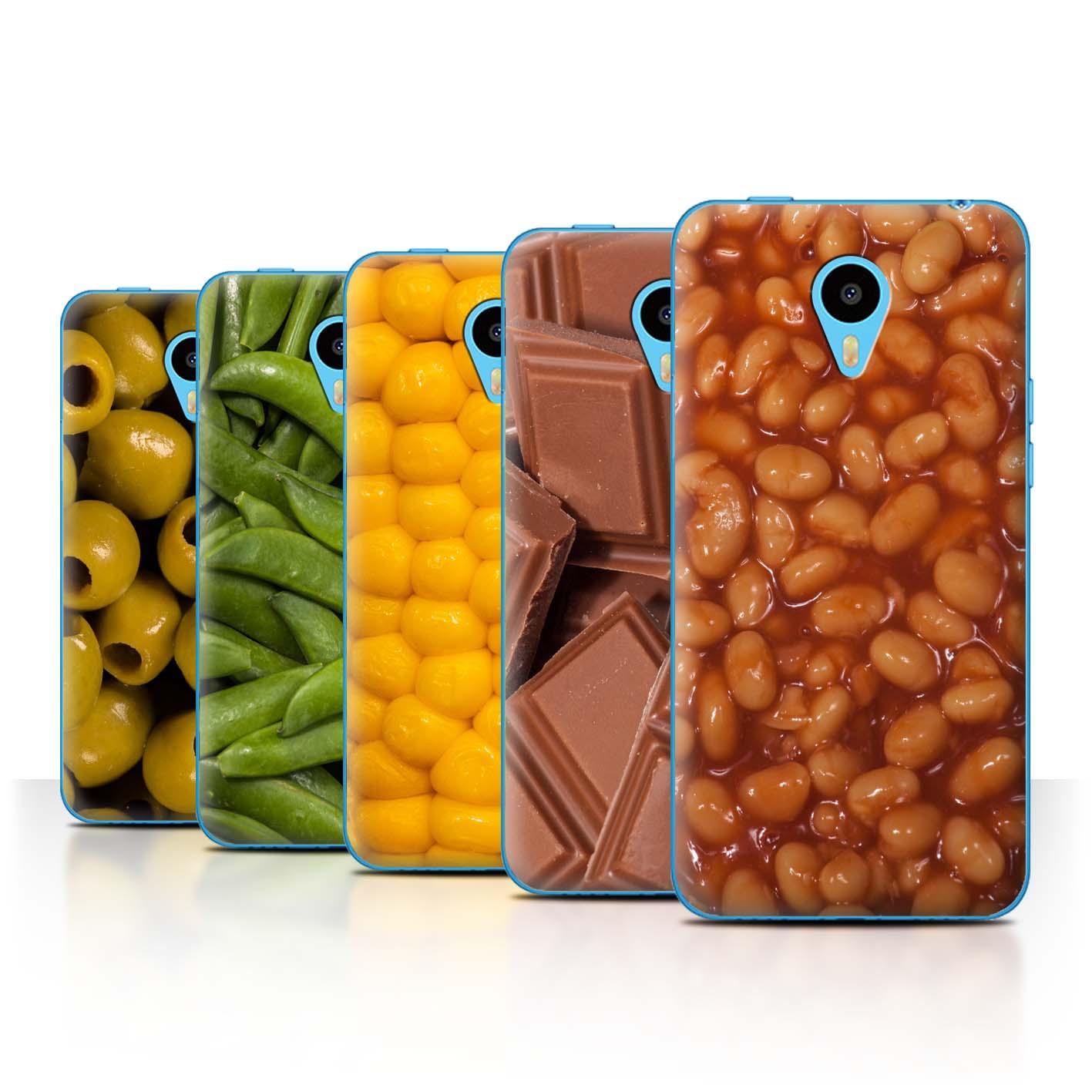 STUFF4-Back-Case-Cover-Skin-for-Meizu-M1N-Food