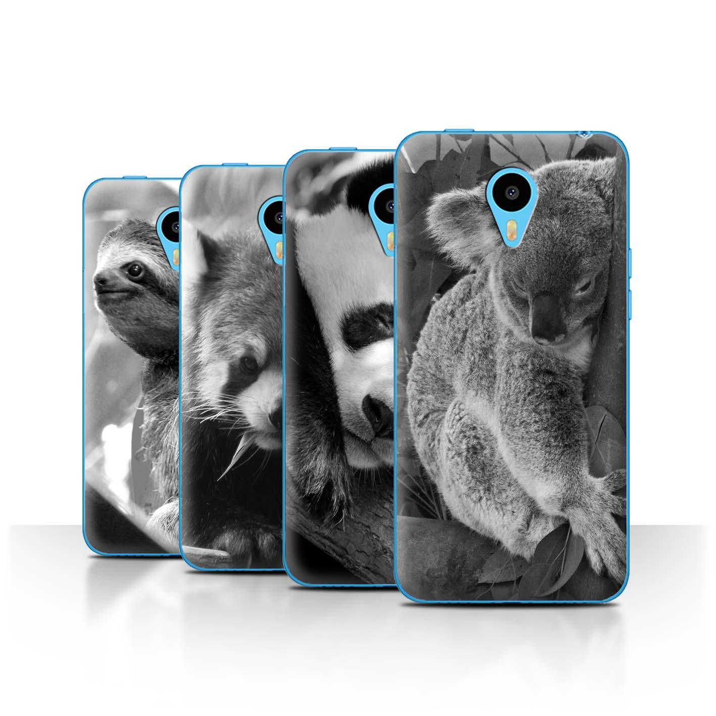 STUFF4-Back-Case-Cover-Skin-for-Meizu-M1N-Mono-Zoo-Animals