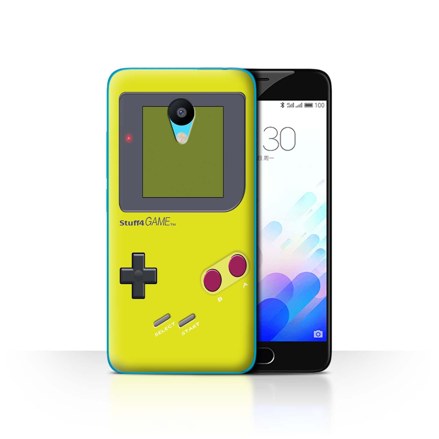 STUFF4-Back-Case-Cover-Skin-for-Meizu-M3-Video-Gamer-Gameboy