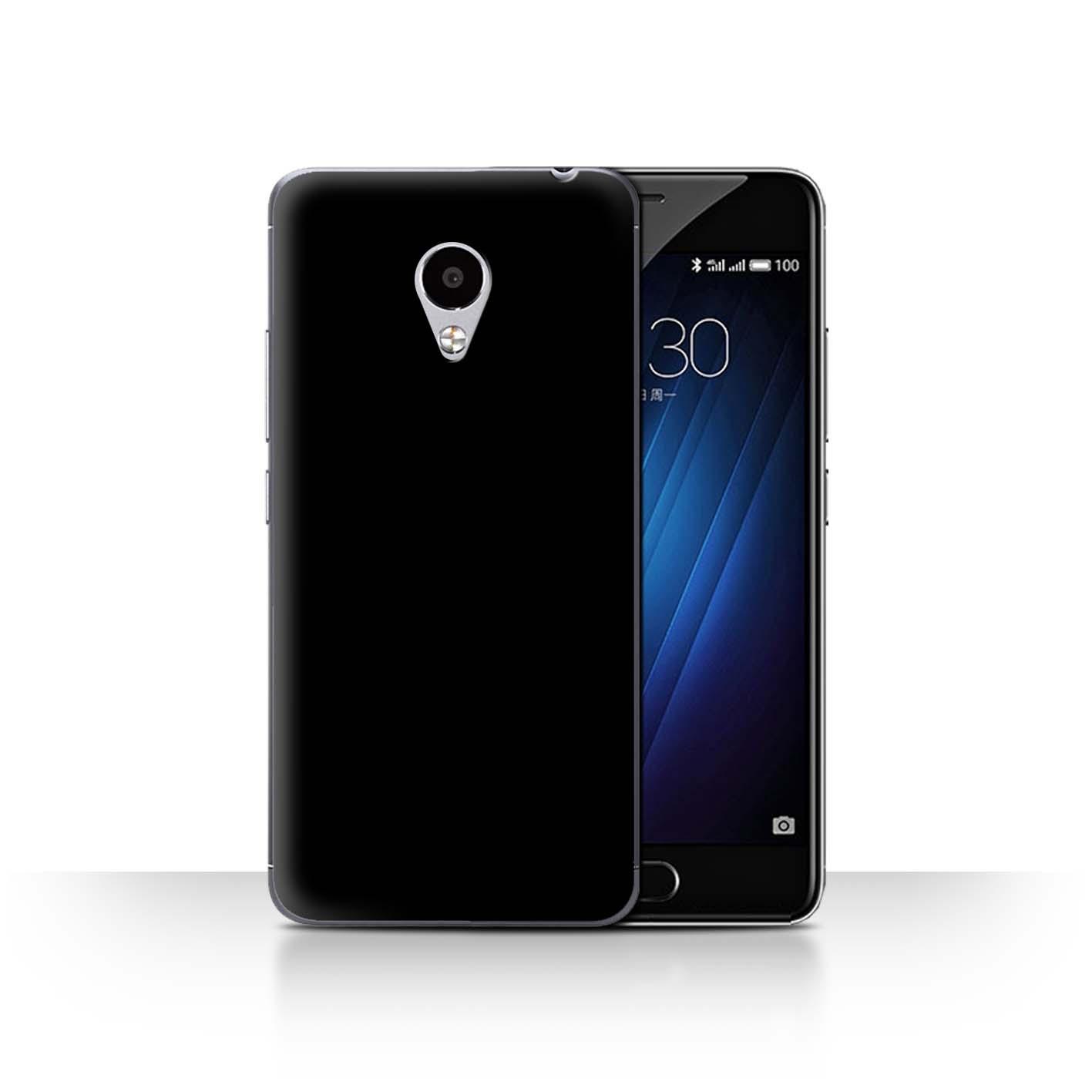 Stuff4 Phone Case Back Cover For Meizu M3s Colours Ebay Nillkin Hard