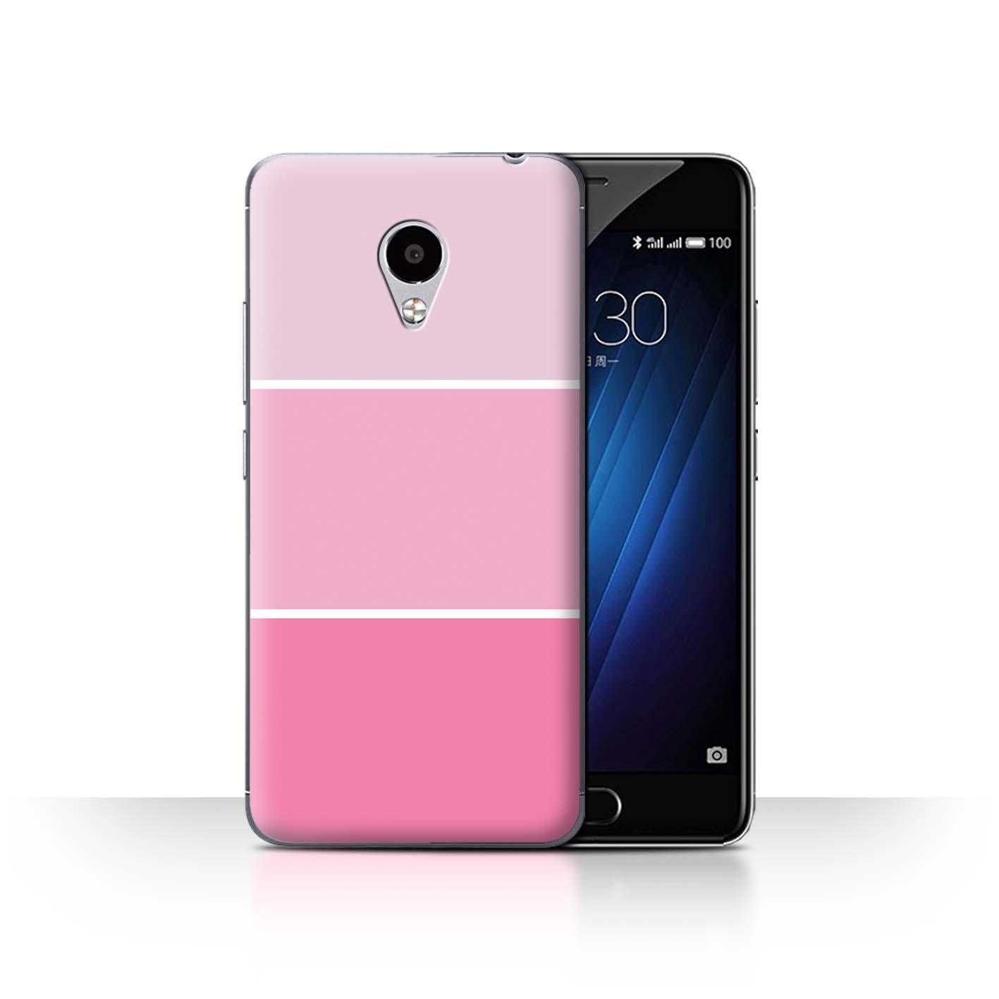 STUFF4-Back-Case-Cover-Skin-for-Meizu-M3S-Pastel-Colour-Tones