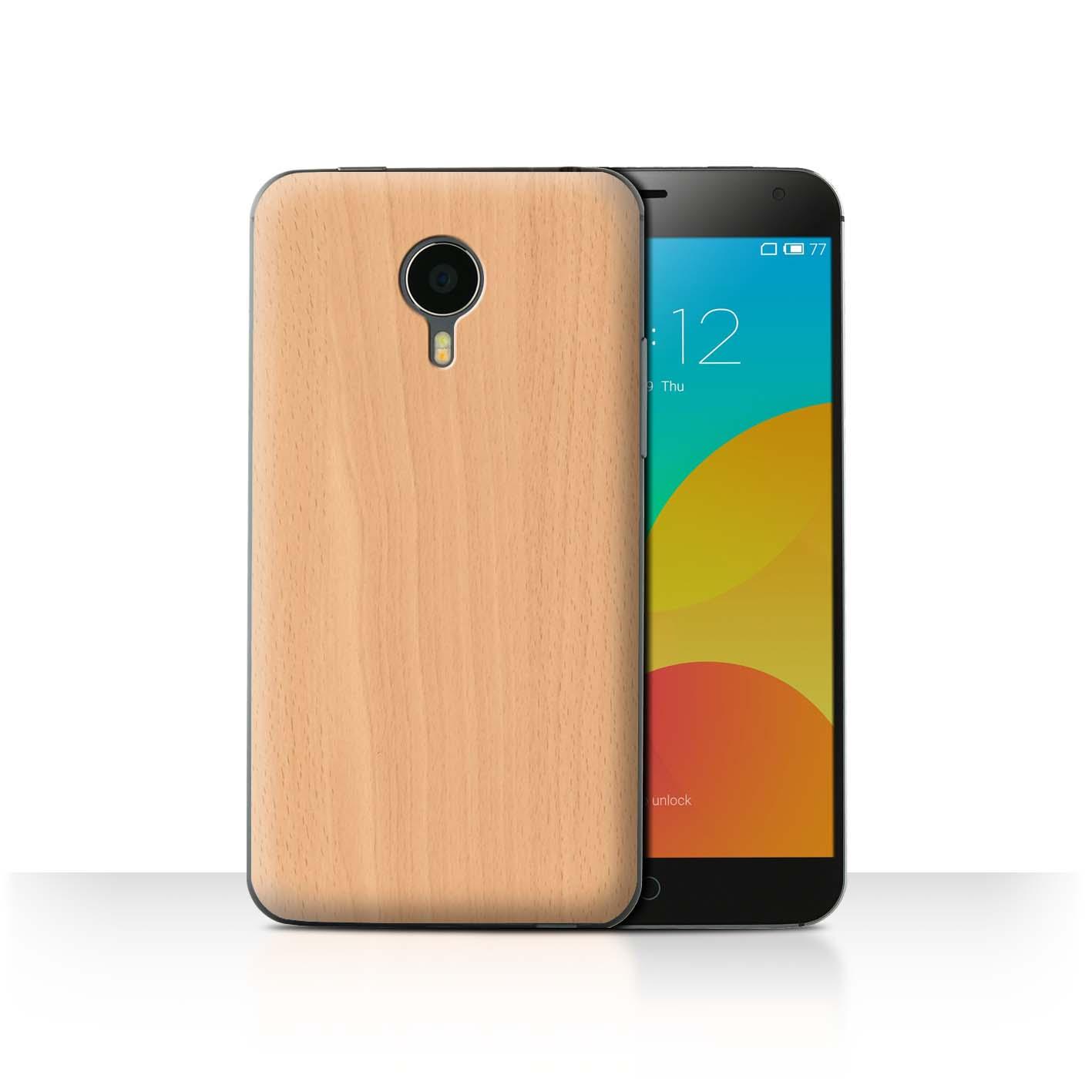 hot sale online 944ba 97b74 Details about STUFF4 Phone Case/Back Cover for Meizu MX4 /Wood Grain  Effect/Pattern