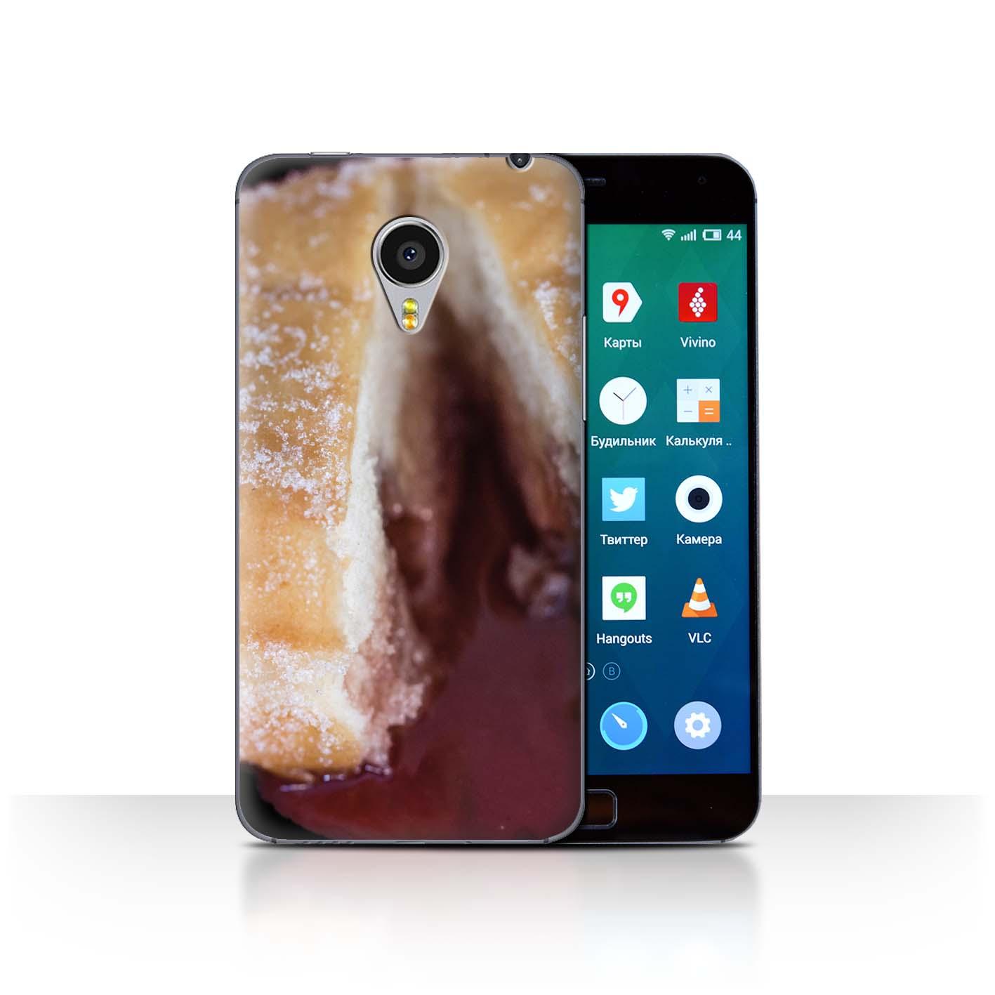 STUFF4-Back-Case-Cover-Skin-for-Meizu-MX4-Pro-Tasty-Donuts