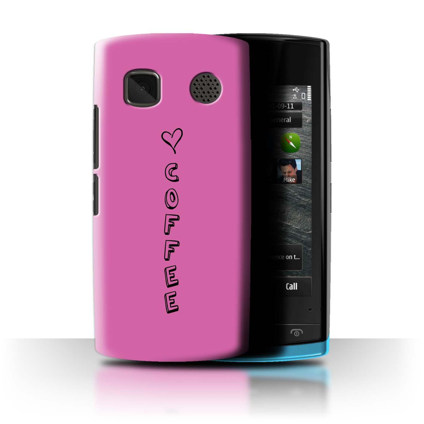 Stuff 4 teléfono caso/cubierta trasera para Nokia 500/Corazón Xoxo