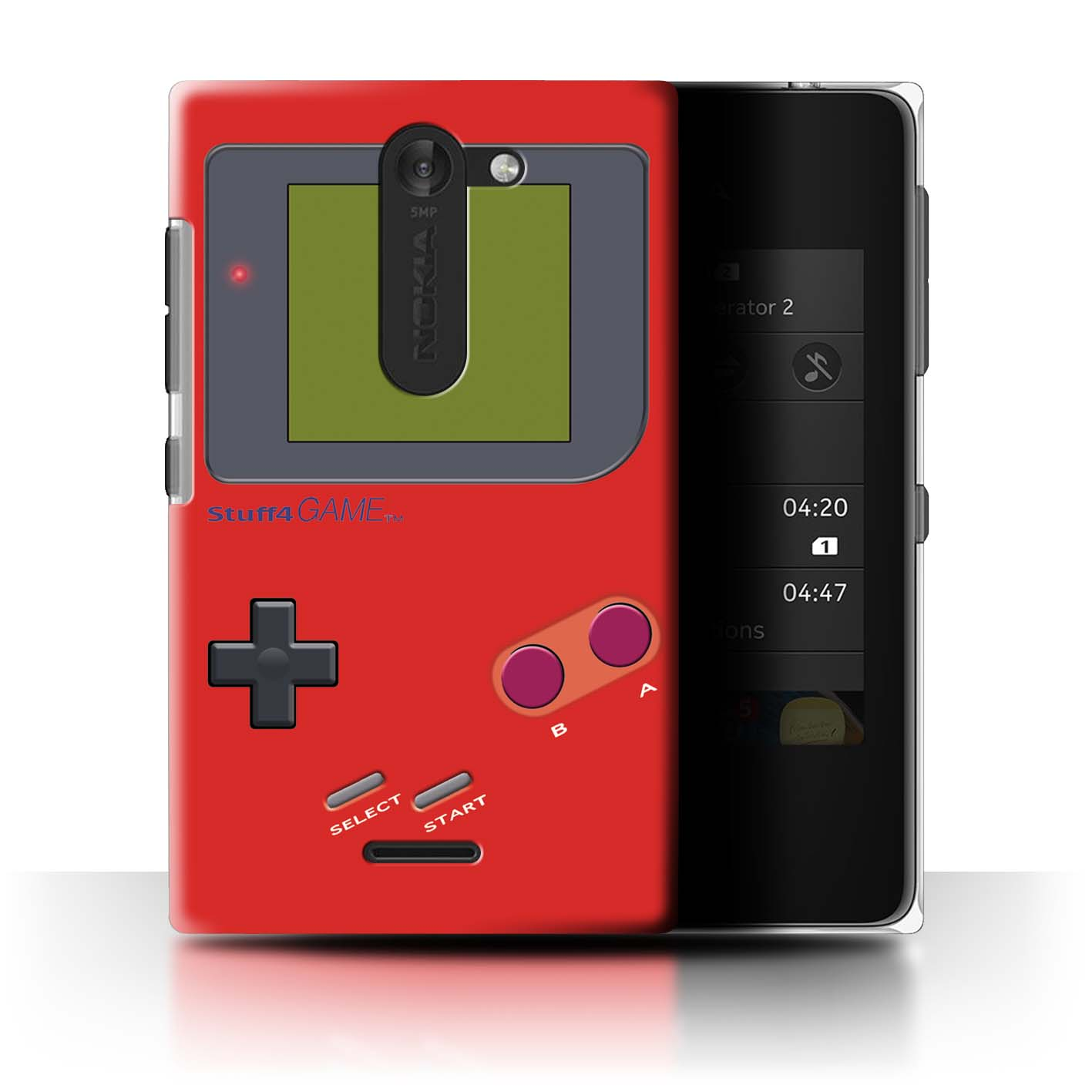 STUFF4-Back-Case-Cover-Skin-for-Nokia-Asha-502-Dual-Video-Gamer-Gameboy