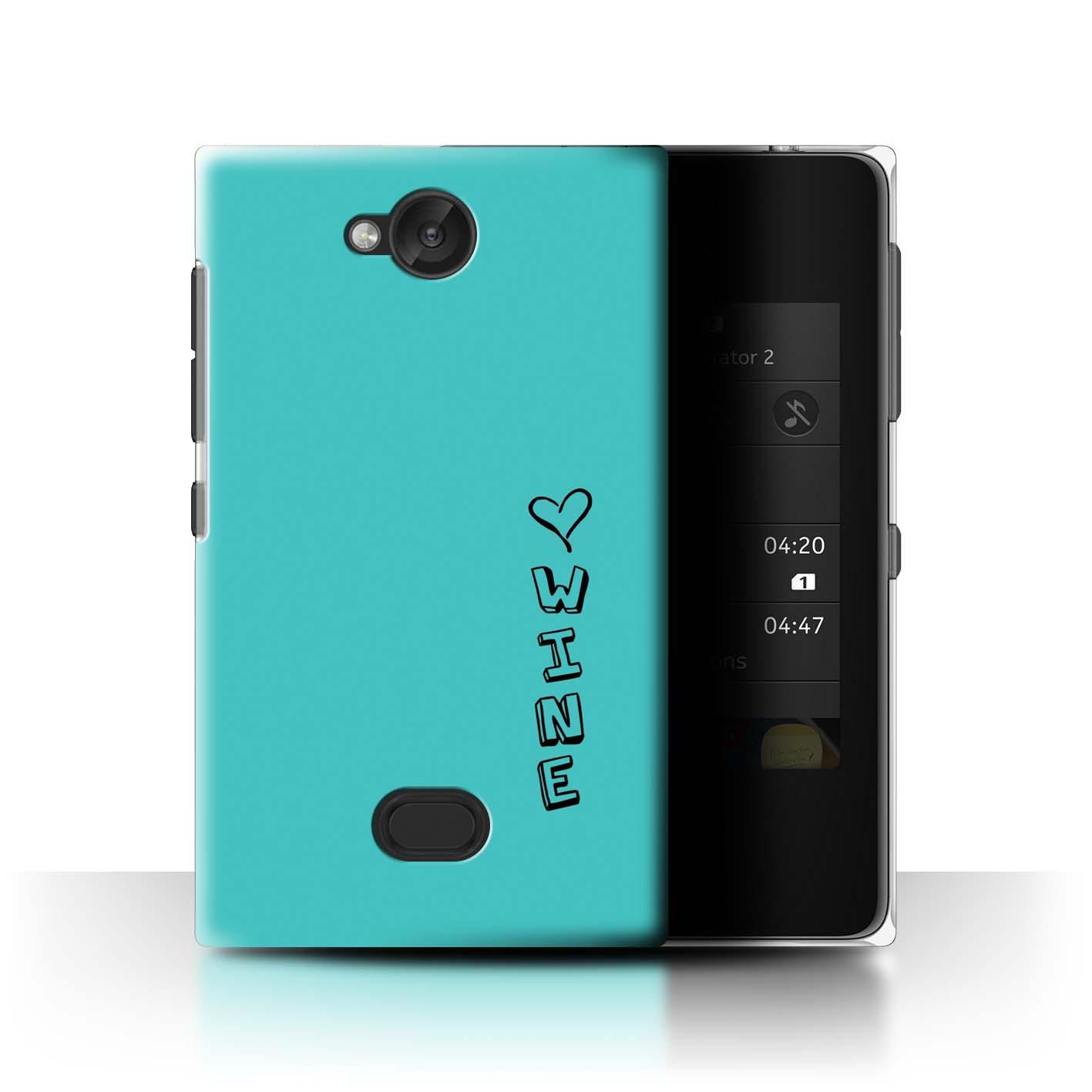 Stuff 4 teléfono caso/cubierta trasera para Nokia Asha 503/Corazón Xoxo