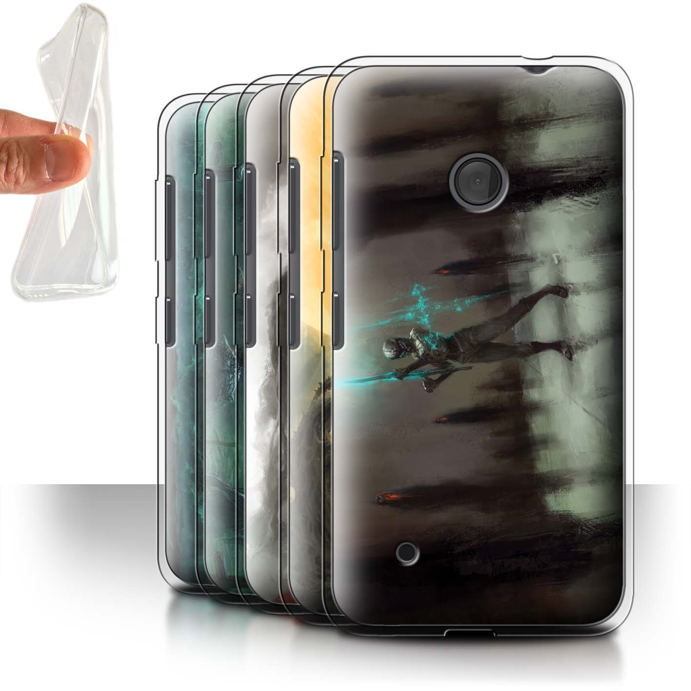 Officielle-Chris-Cold-Coque-Gel-TPU-pour-Nokia-Lumia-530-Pegre-Enfer
