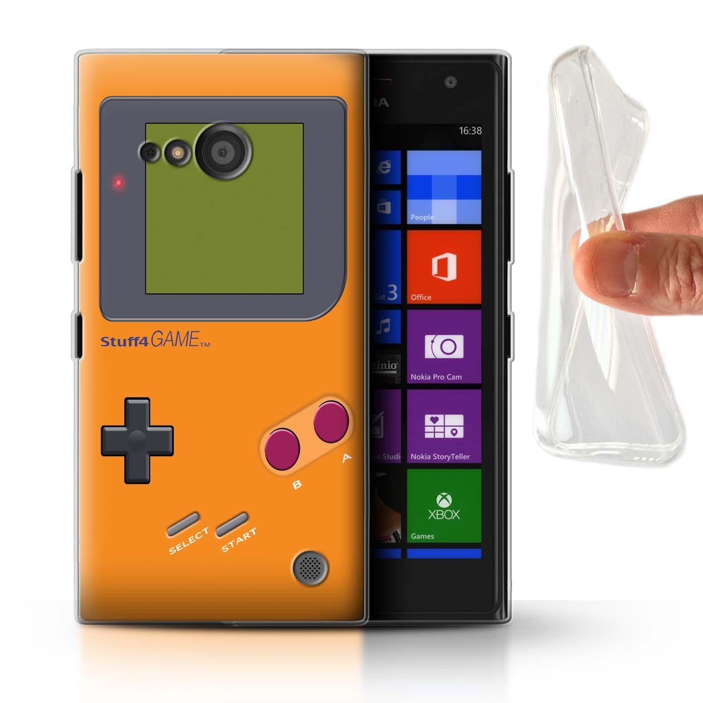 STUFF4-Gel-TPU-Case-Cover-for-Nokia-Lumia-735-Video-Gamer-Gameboy