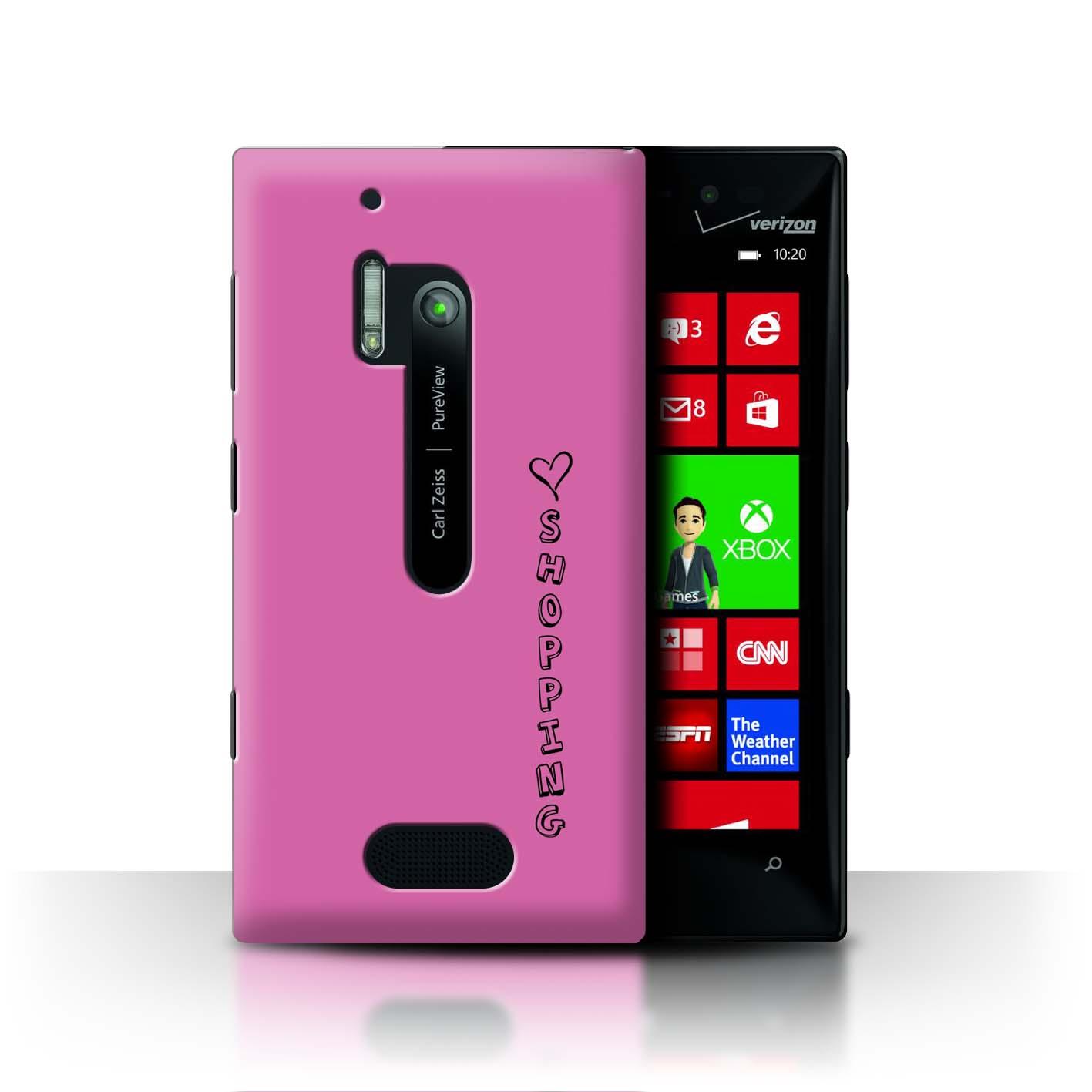 Stuff 4 teléfono caso/cubierta trasera para Nokia Lumia 928/Corazón Xoxo