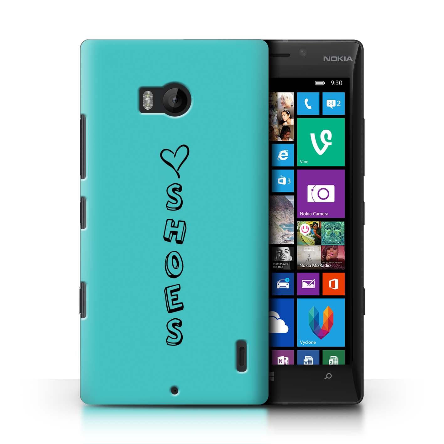 Stuff 4 teléfono caso/cubierta trasera para Nokia Lumia Icon/Corazón Xoxo