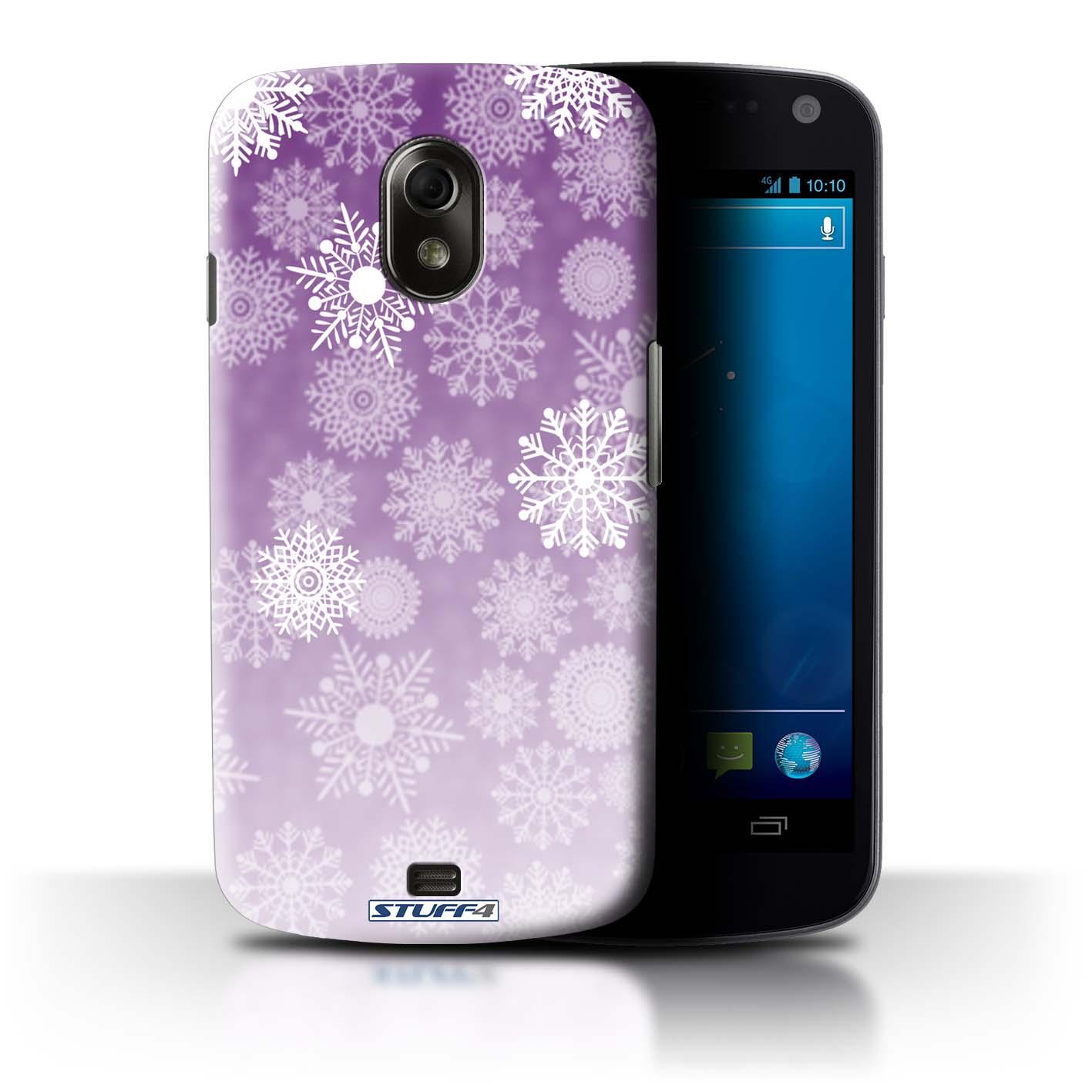 STUFF4-Back-Case-Cover-Skin-for-Samsung-Galaxy-Nexus-3-I9250-Snowflake-Mist