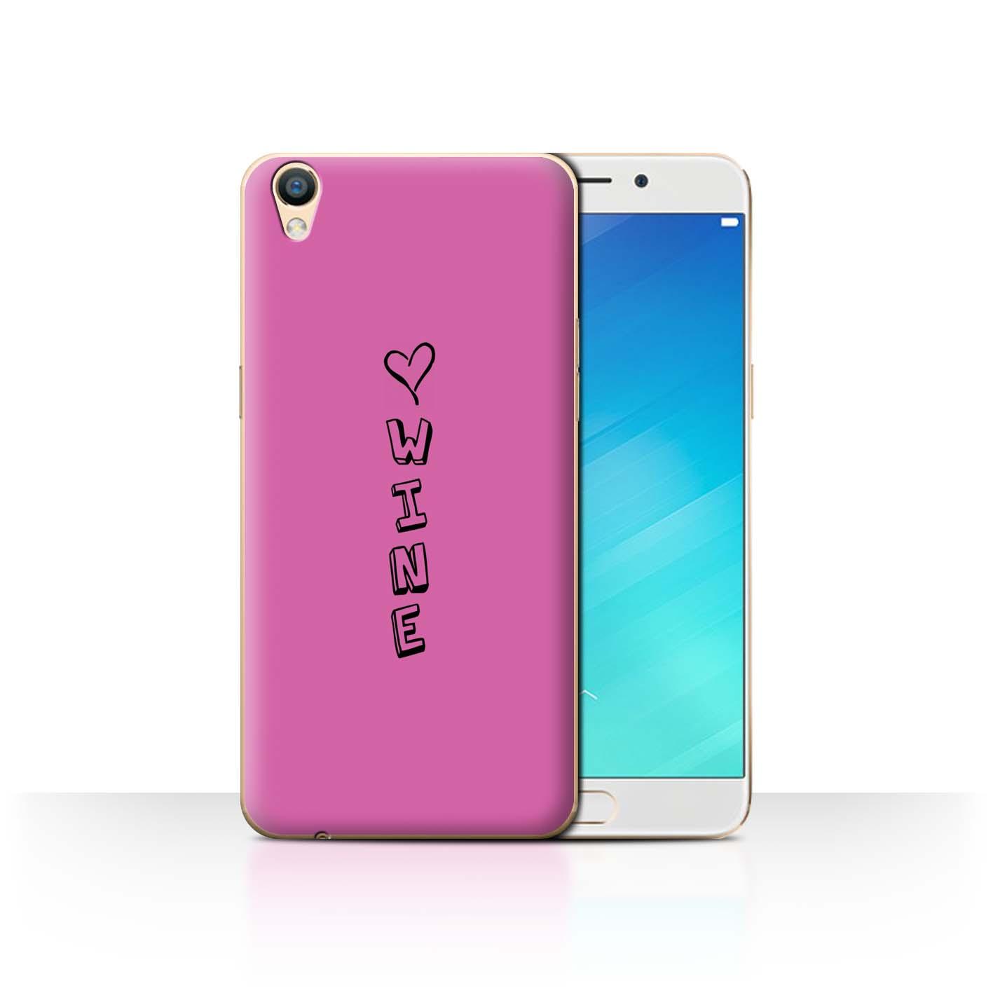 Stuff 4 teléfono caso/cubierta trasera para Oppo F1 Plus/R9 5.5/Corazón Xoxo