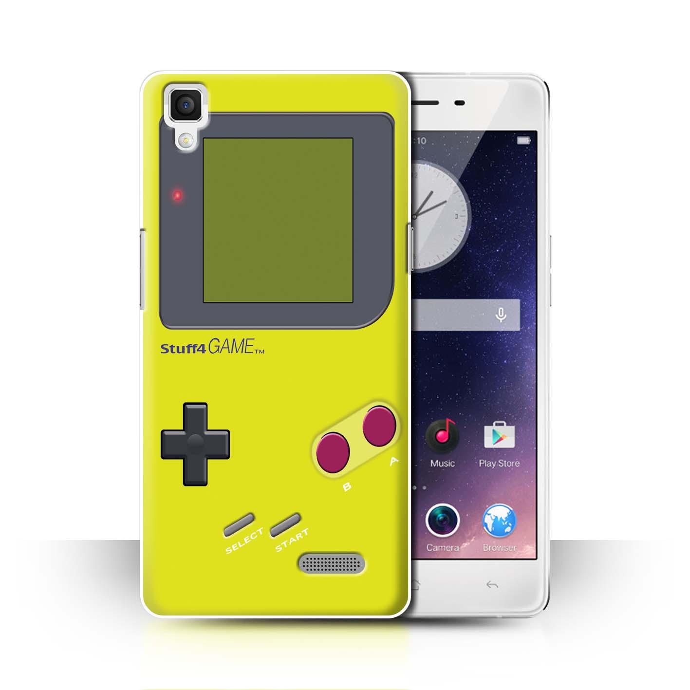 STUFF4-Back-Case-Cover-Skin-for-Oppo-R7-Video-Gamer-Gameboy