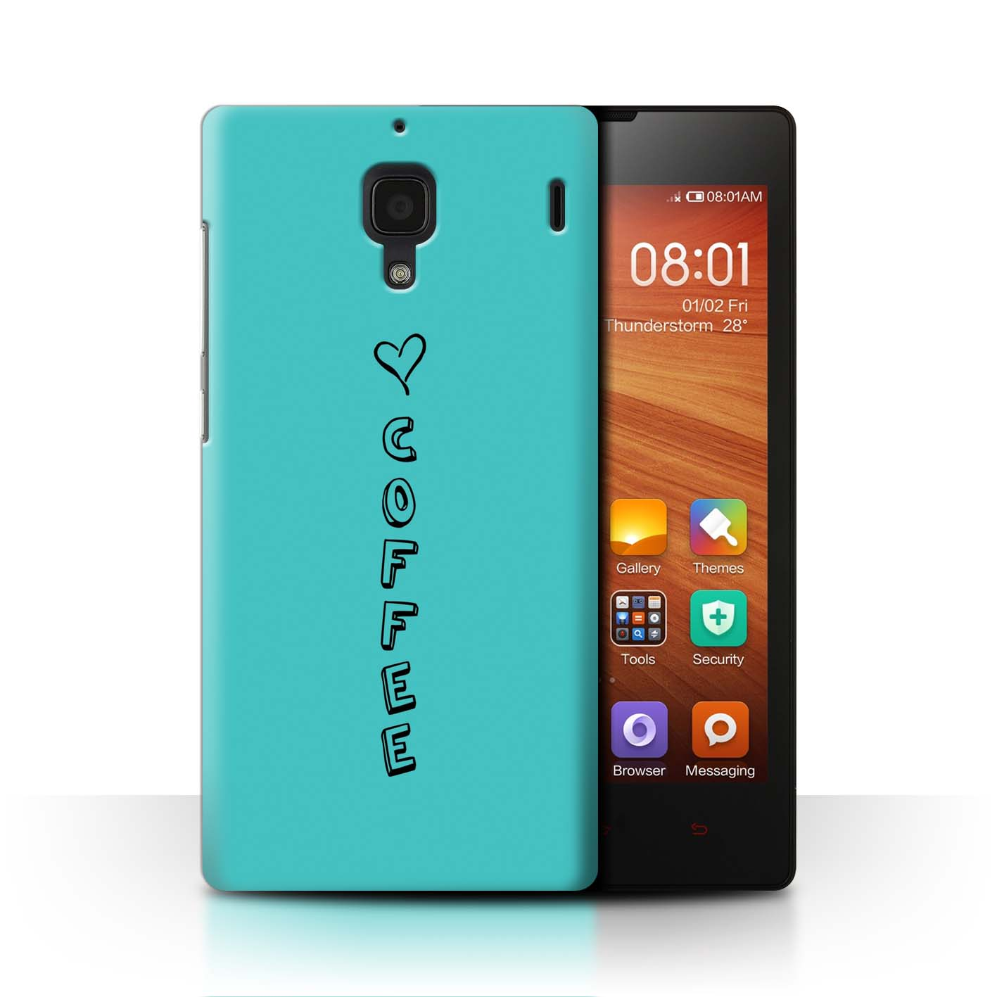 Stuff 4 teléfono caso/cubierta trasera para Xiaomi Redmi/Corazón Xoxo