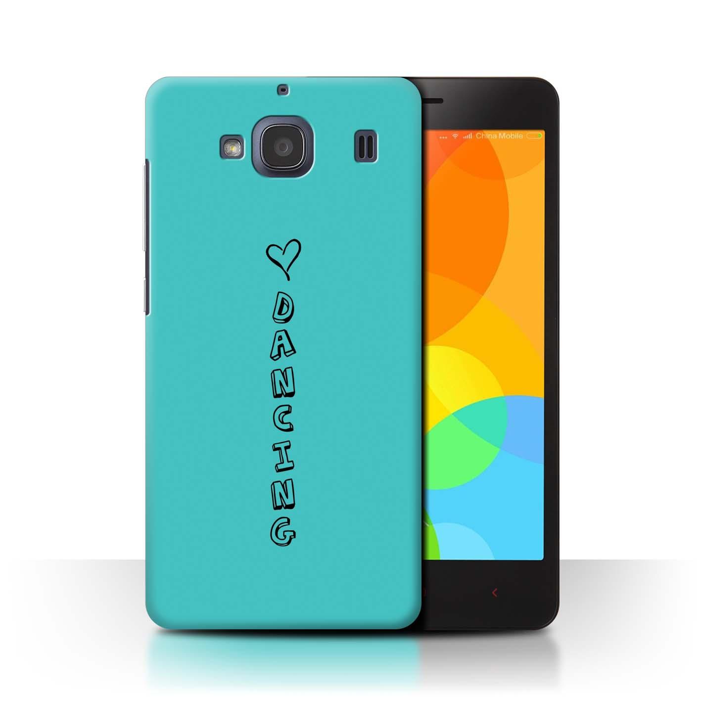 Stuff 4 teléfono caso/cubierta trasera para Xiaomi Redmi 2/Corazón Xoxo