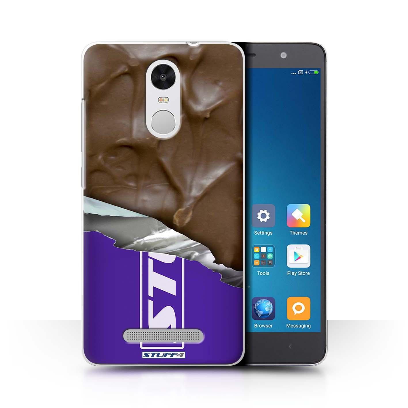STUFF4 Phone Case/Back Cover for Xiaomi Redmi Note 3 /Chocolate   eBay
