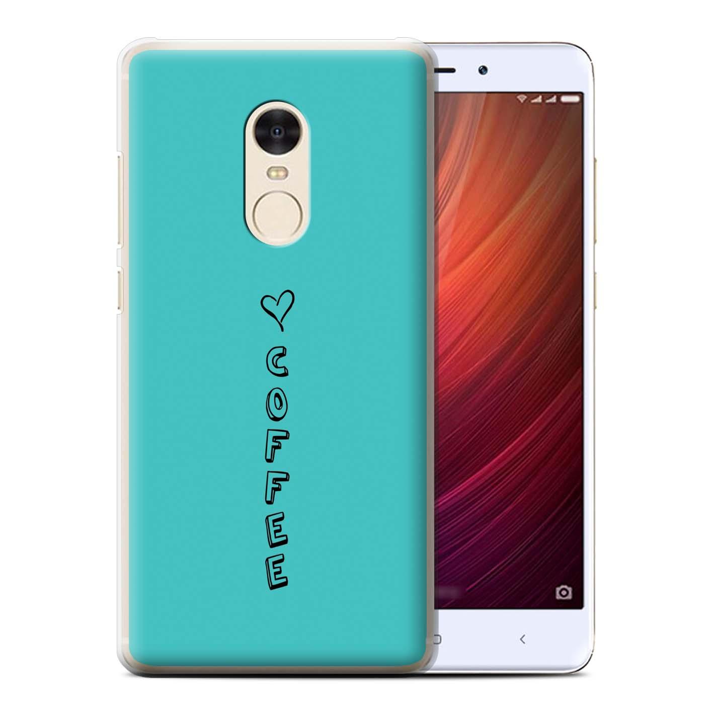 Stuff 4 teléfono caso/cubierta trasera para Xiaomi Redmi 4/Corazón Xoxo Note