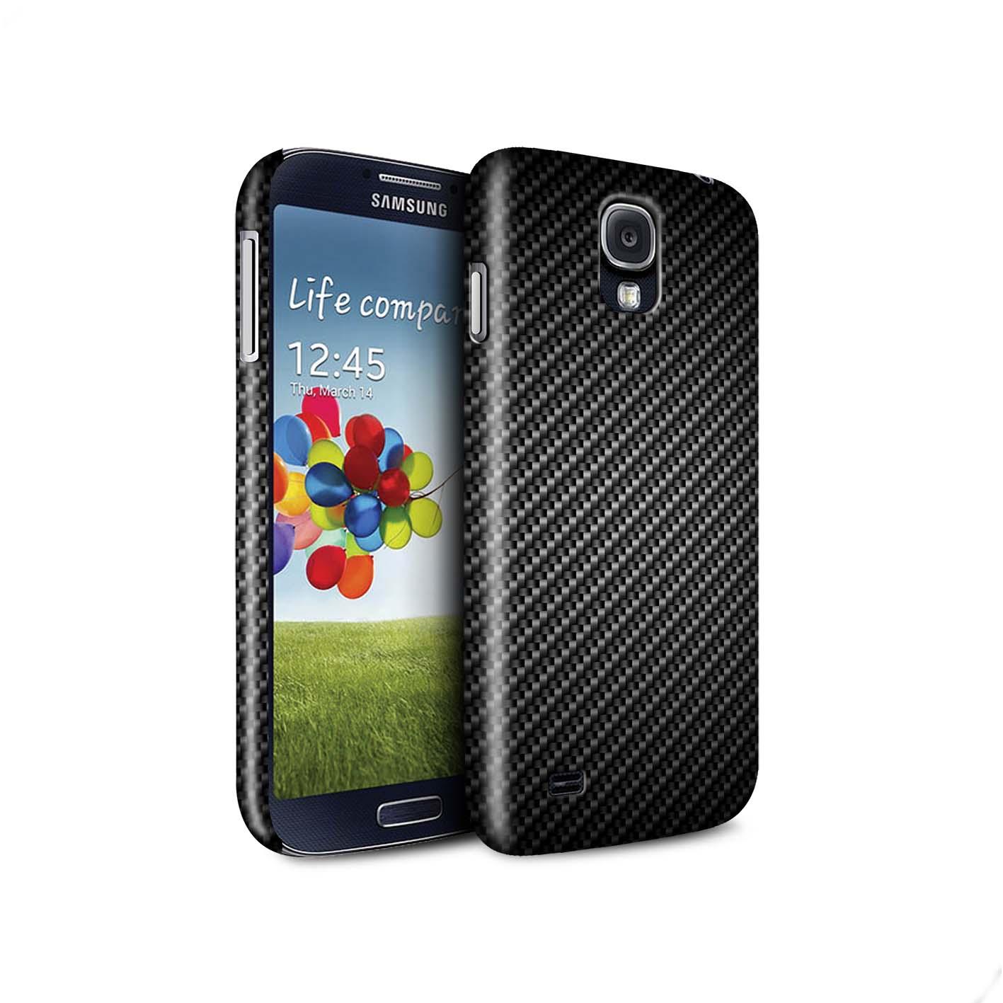 STUFF4-Coque-Matte-pour-Samsung-Galaxy-Motif-de-Fibre-de-Carbone-Housse-Etui