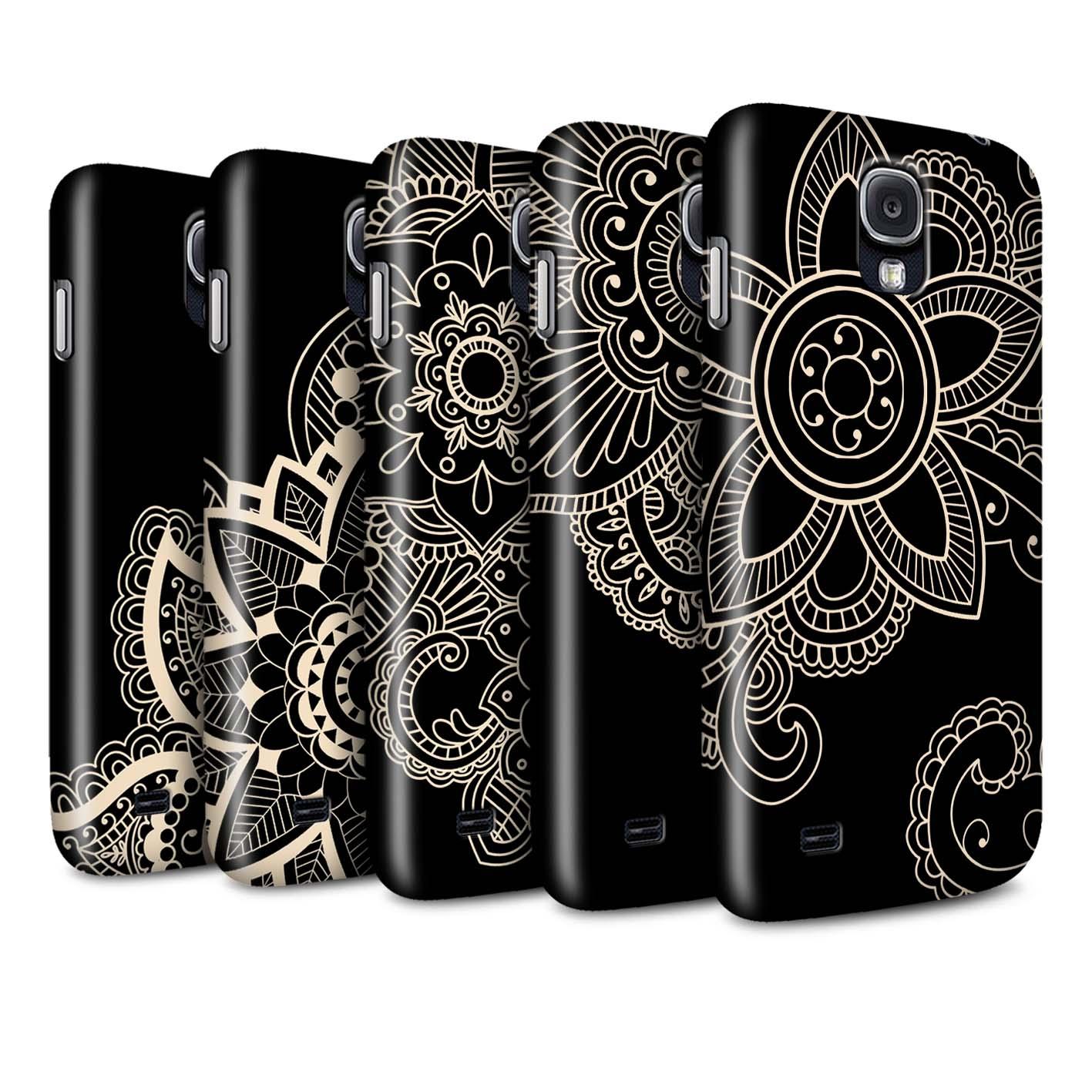 STUFF4-Matte-Phone-Case-for-Samsung-Galaxy-S4-SIV-Henna-Tattoo